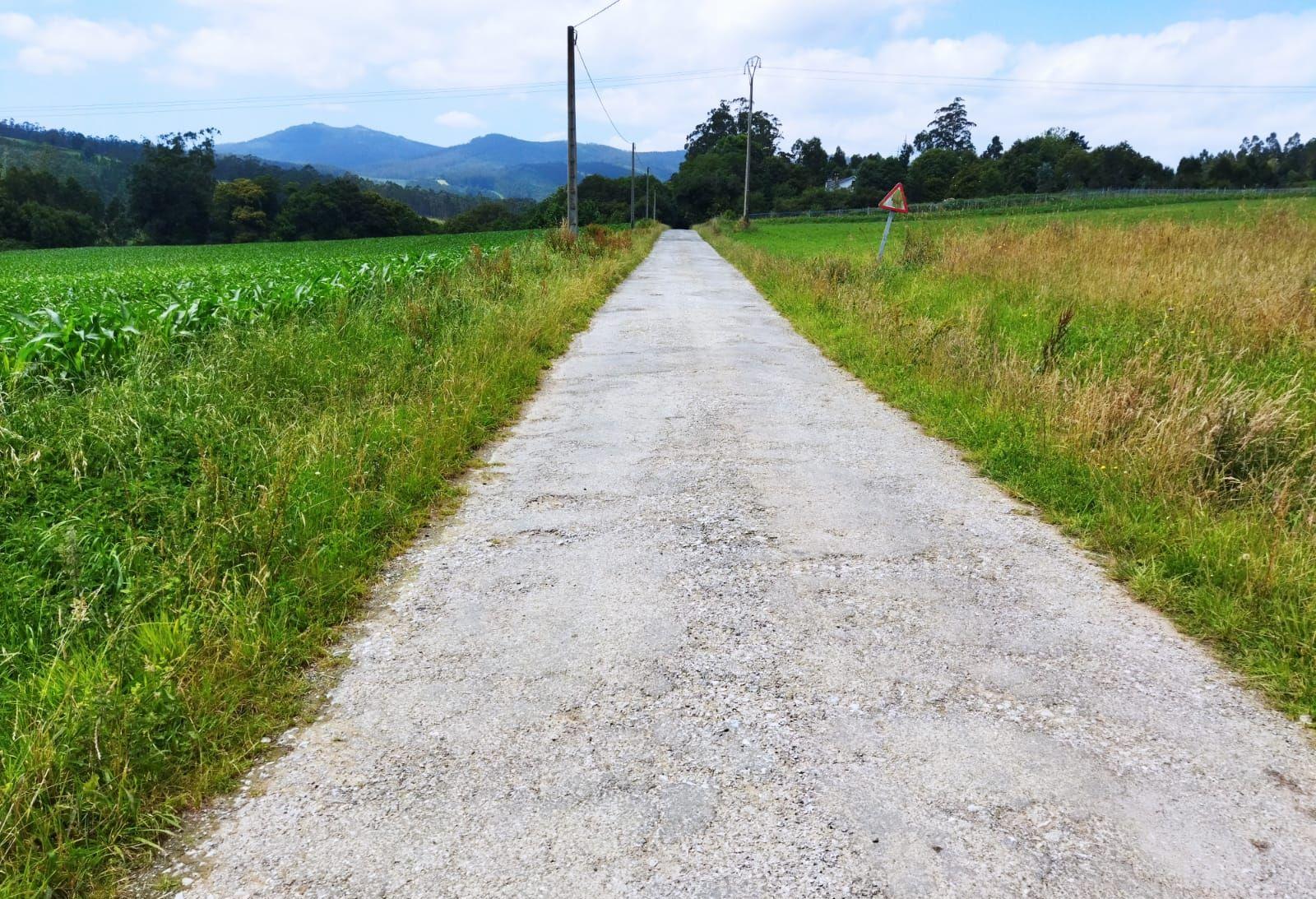 O Concello de Ribadeo saca a licitación as obras de mellora integral do camiño en Covelas que une Salcedo con Saa