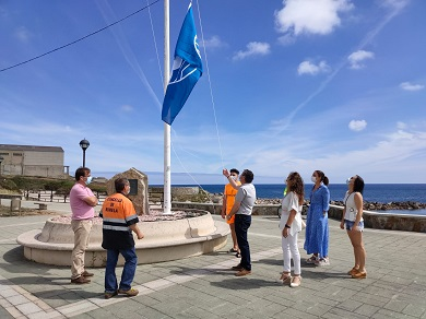 Este xoves serán izadas as bandeiras azuis do Portelo e da Marosa