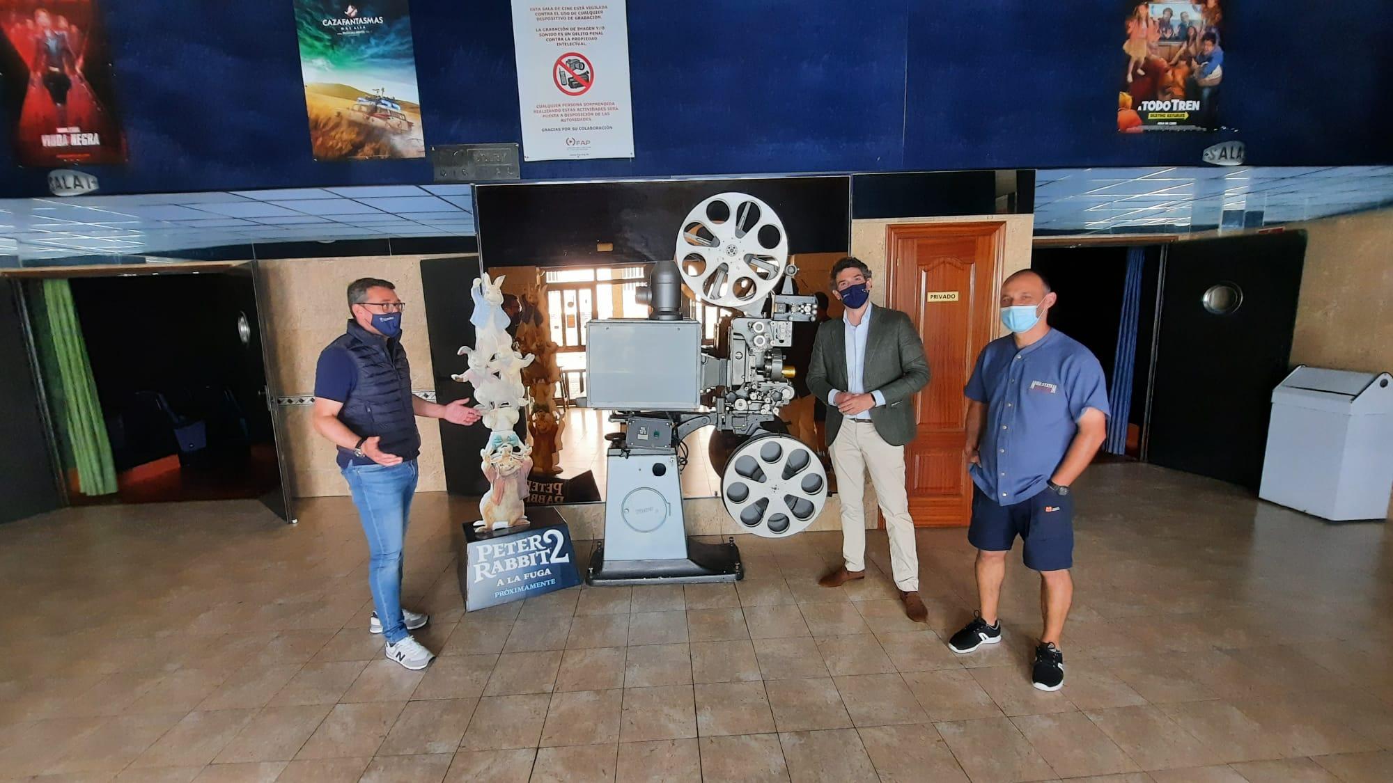 A Xunta contribúe á viabilidade das salas de cine da Mariña