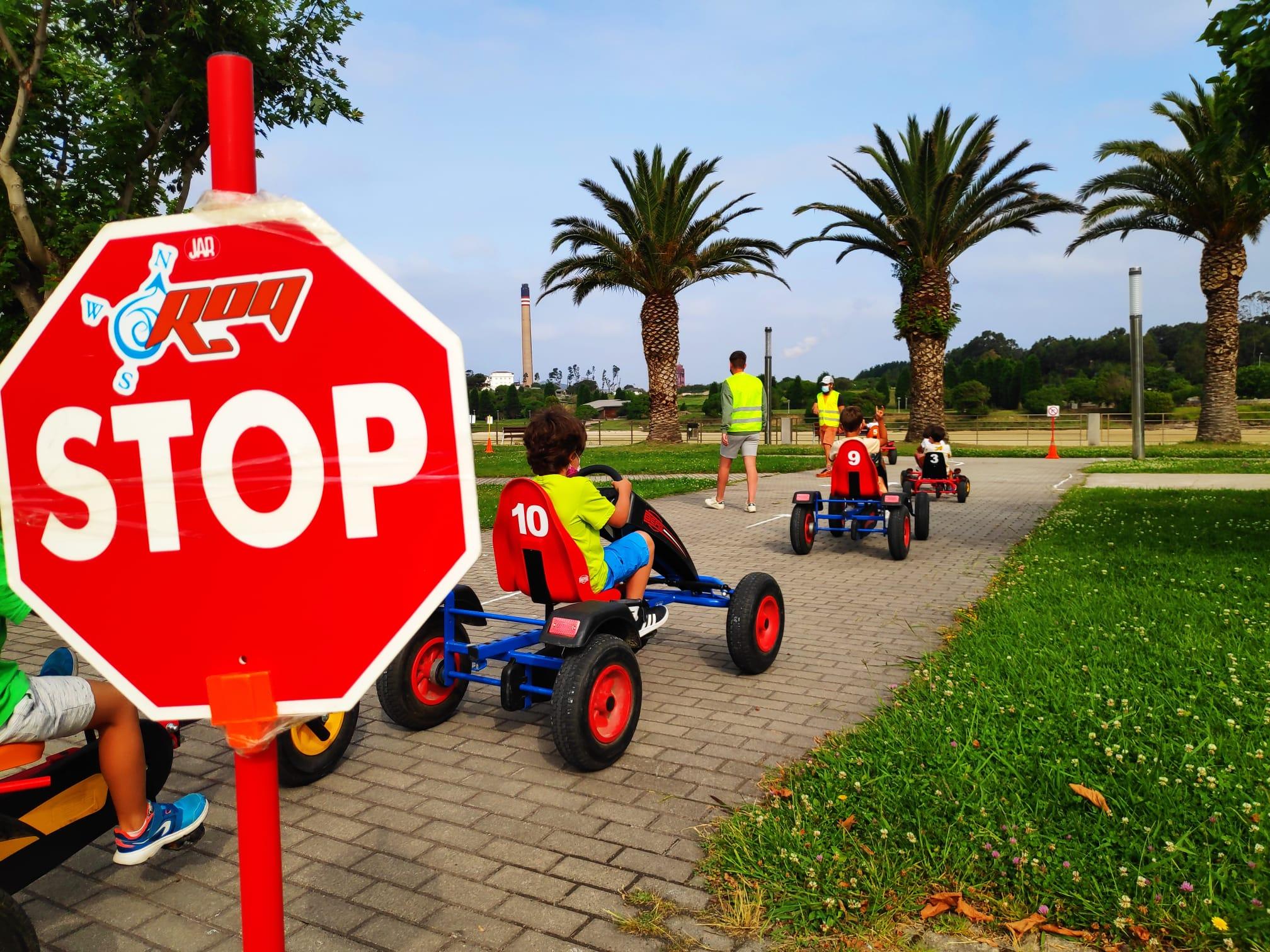 Circuíto de seguridade vial en San Cibrao
