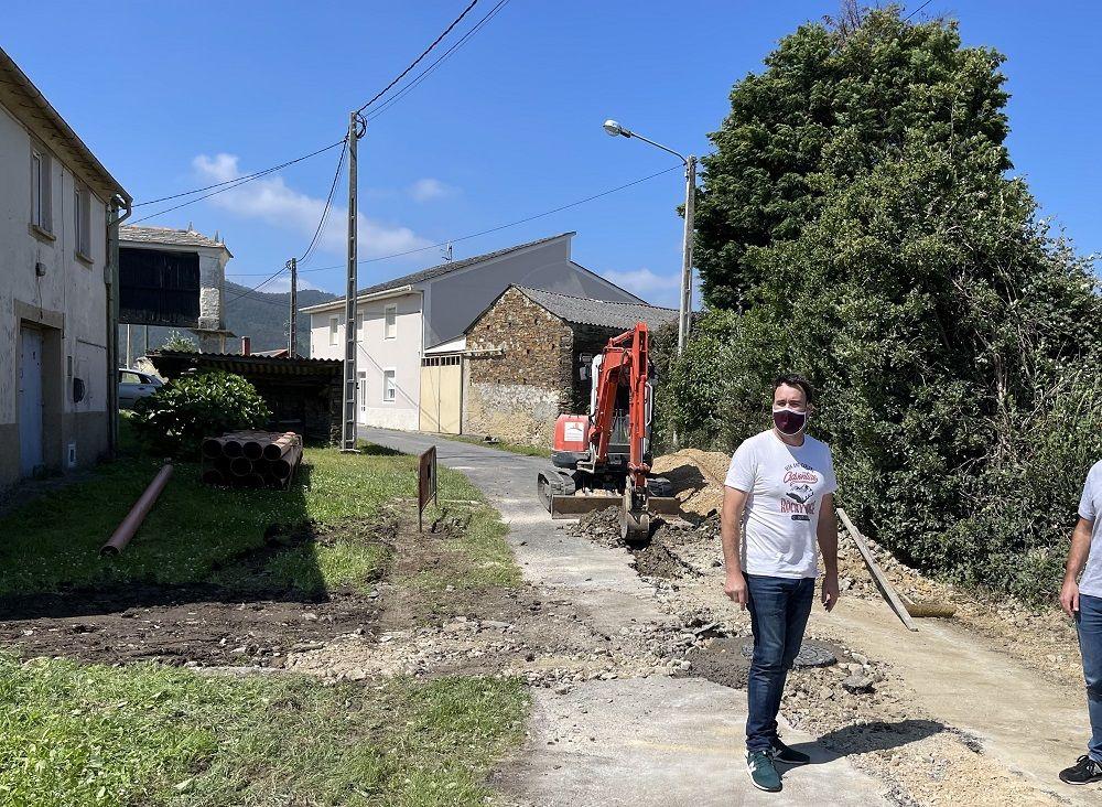 45.000€ para obras de saneamento e pavimentación en Vilaframil