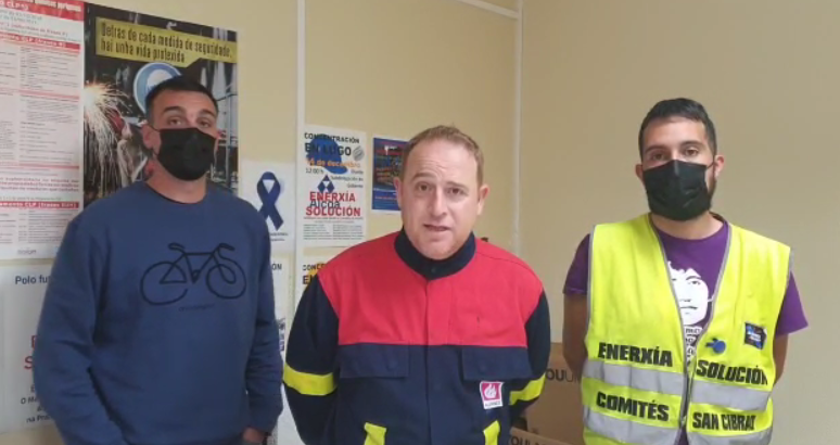A asemblea de traballadorxs de Alcoa decide prorrogar a suspensión da folga