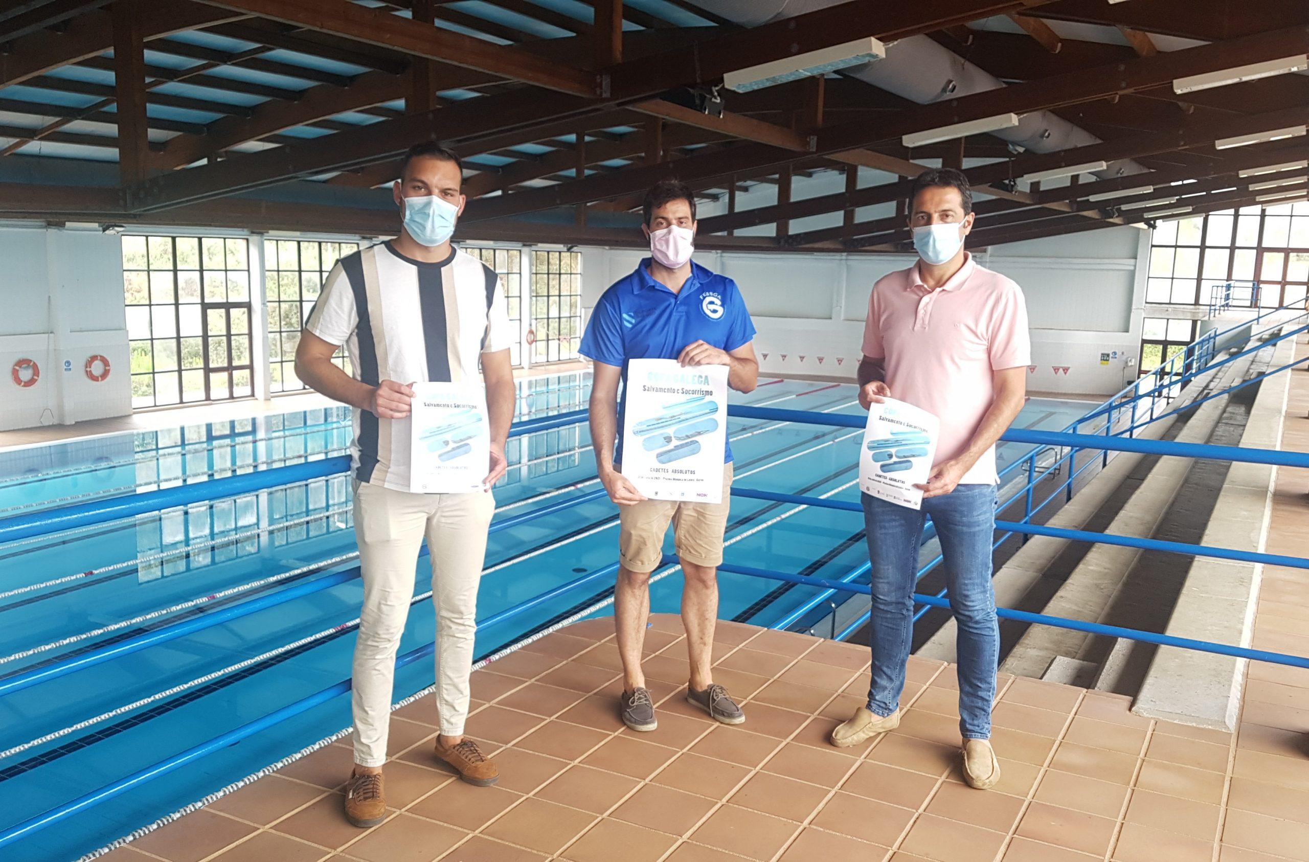 A piscina municipal de Cervo acolle este sábado a Copa Galega de Salvamento e Socorrismo