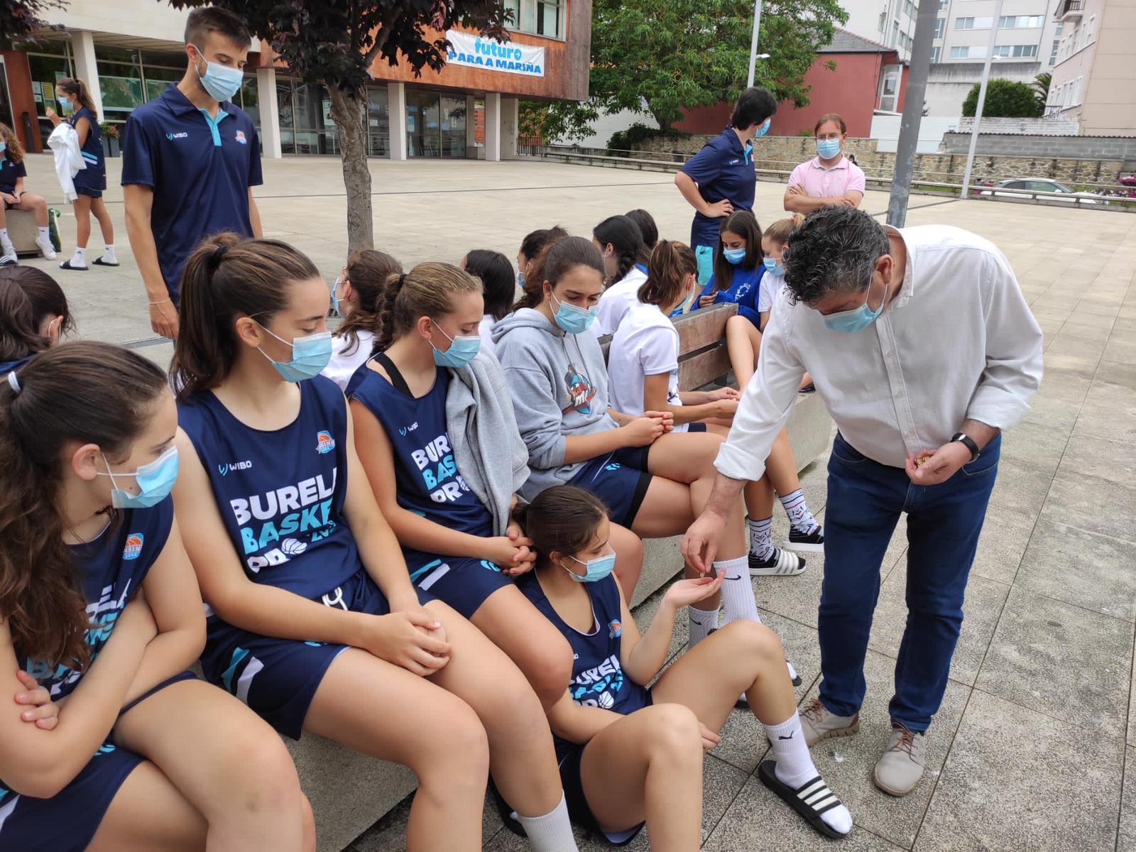 A Concellería de deportes fai un balance moi positivo do Burela Basquet Oro, o stage de perfeccionamento celebrado na vila