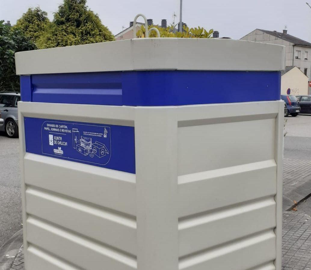 Concello e Acisa animan a comercio e hostalería a utilizar o servizo de recollida de cartón porta a porta