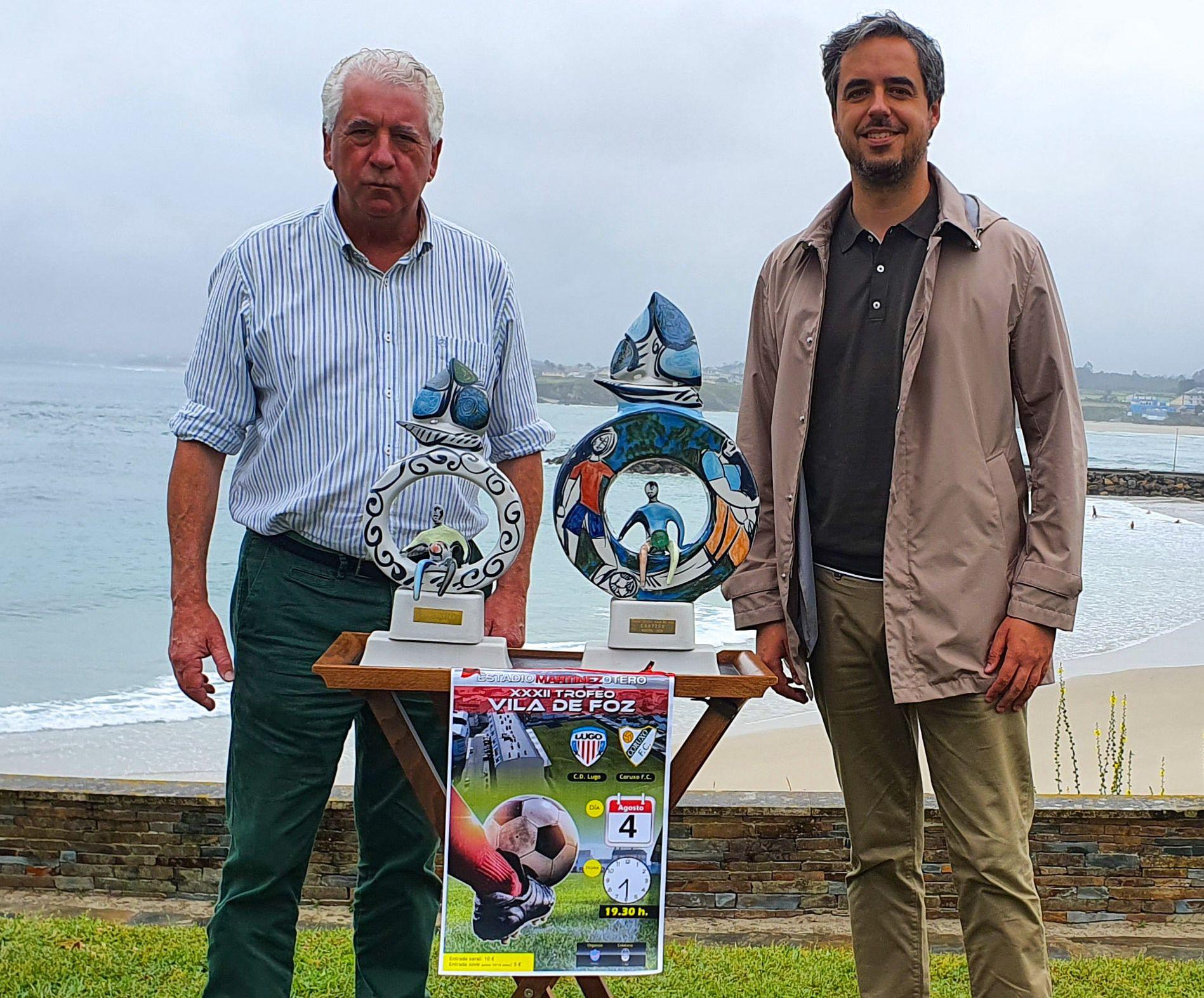 CD Lugo e Coruxo disputarán o XXXII Torneo Vila de Foz o 4 de agosto