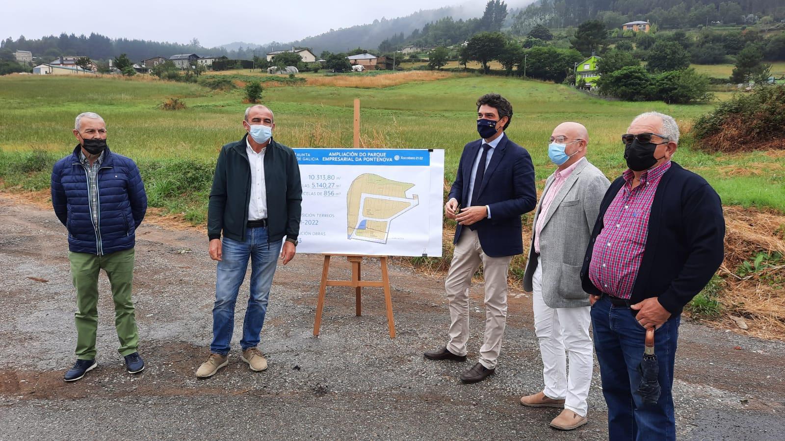 A Xunta avanza nos trámites para ampliar o polígono empresarial da Pontenova en máis de 10.000 metros cadrados
