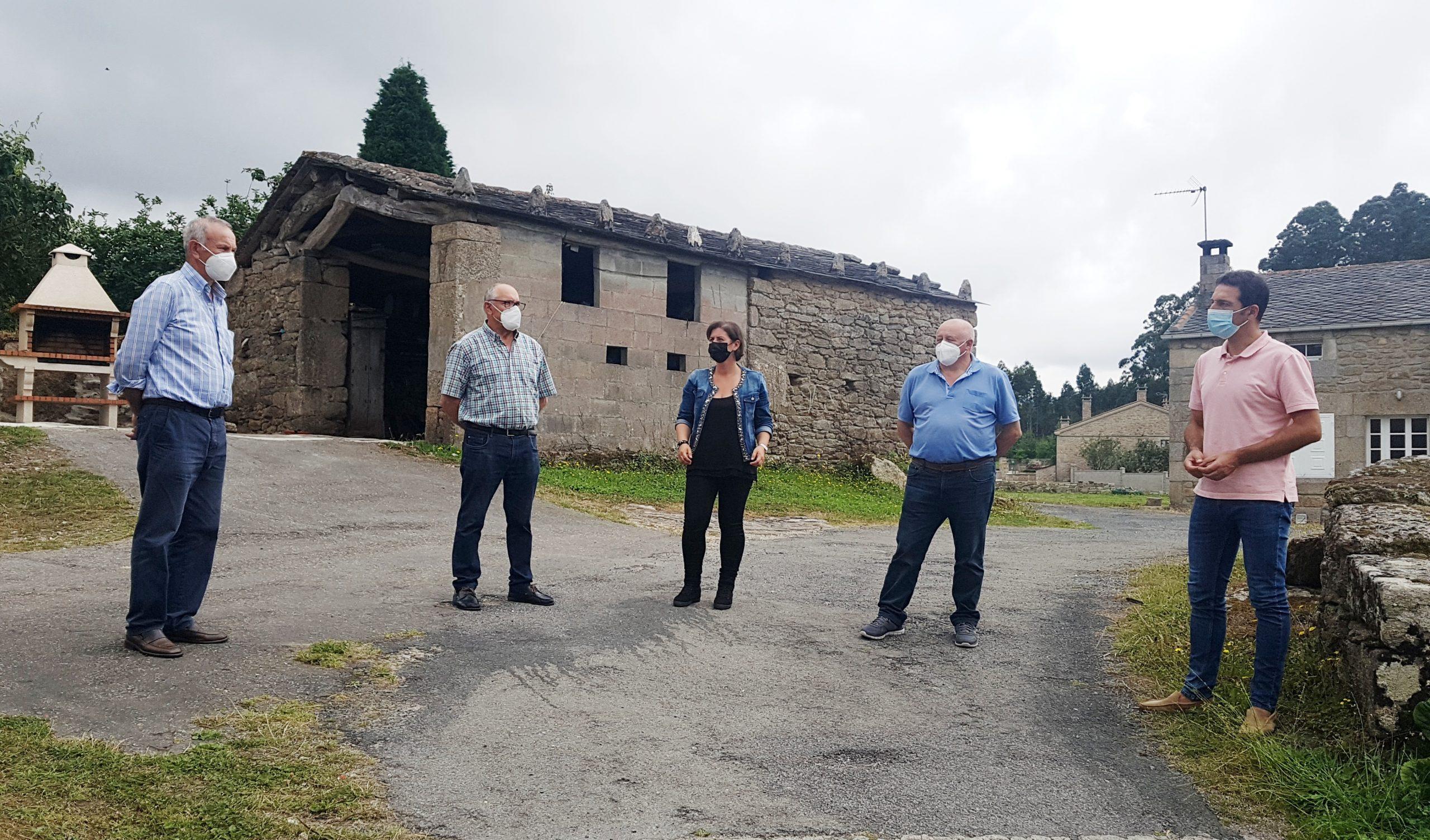 80.000€ para levar o saneamento aos núcleos da Alleira e O Cal, en San Román