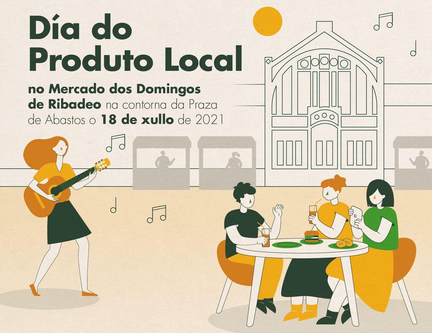 Ribadeo celebra este domingo o Día do produto local
