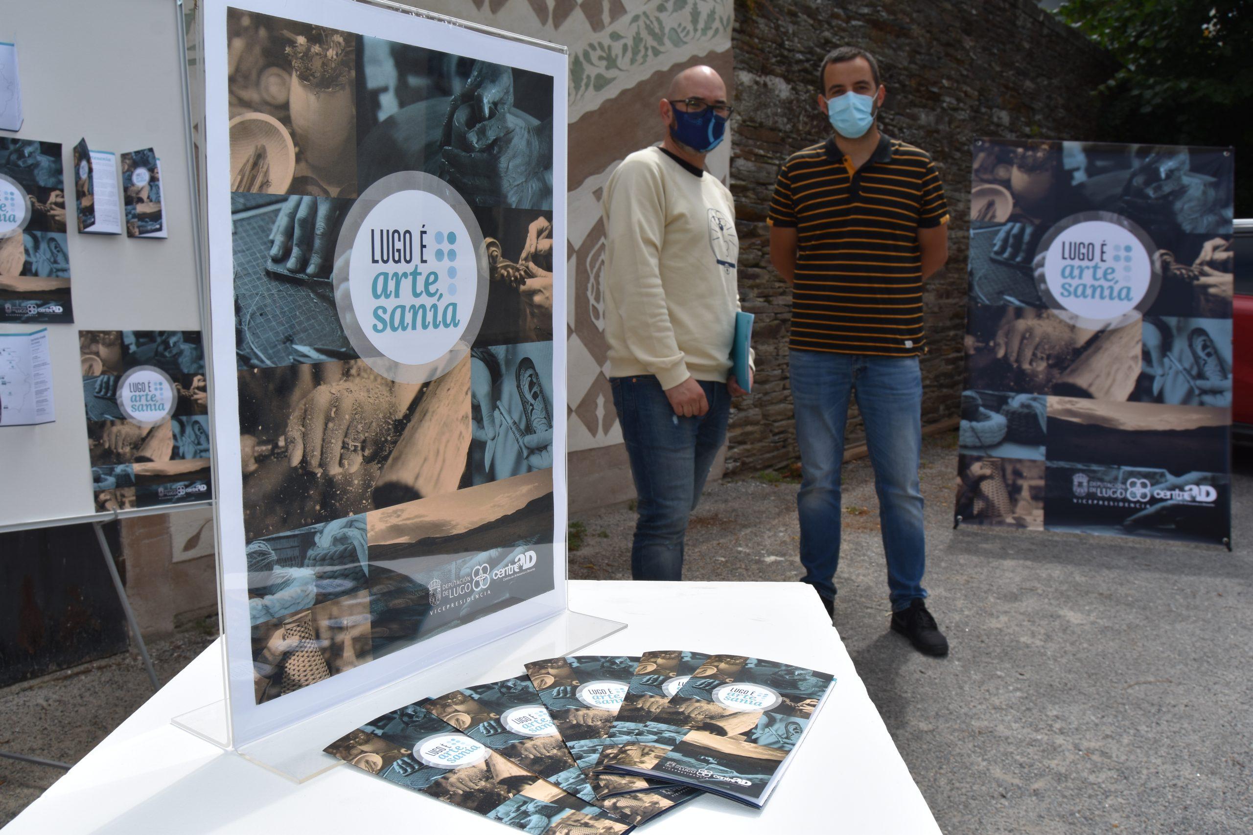 O Centrad pón en marcha roteiros para dar a coñecer  os recursos culturais e naturais das comarcas a través da artesanía