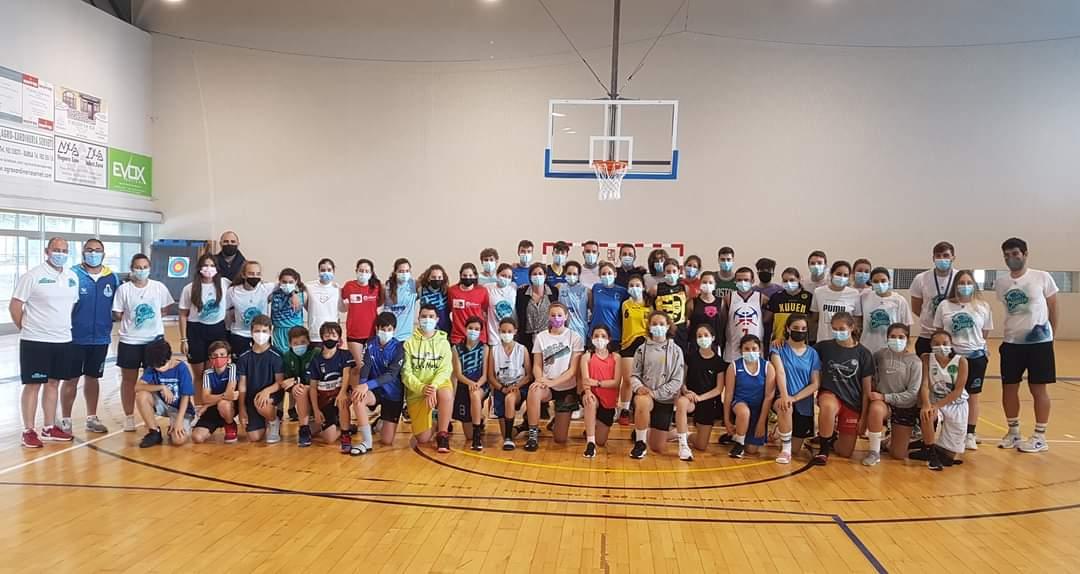 A III edición do campus de basket Entrenos despídese de San Cibrao con moi boas sensacións