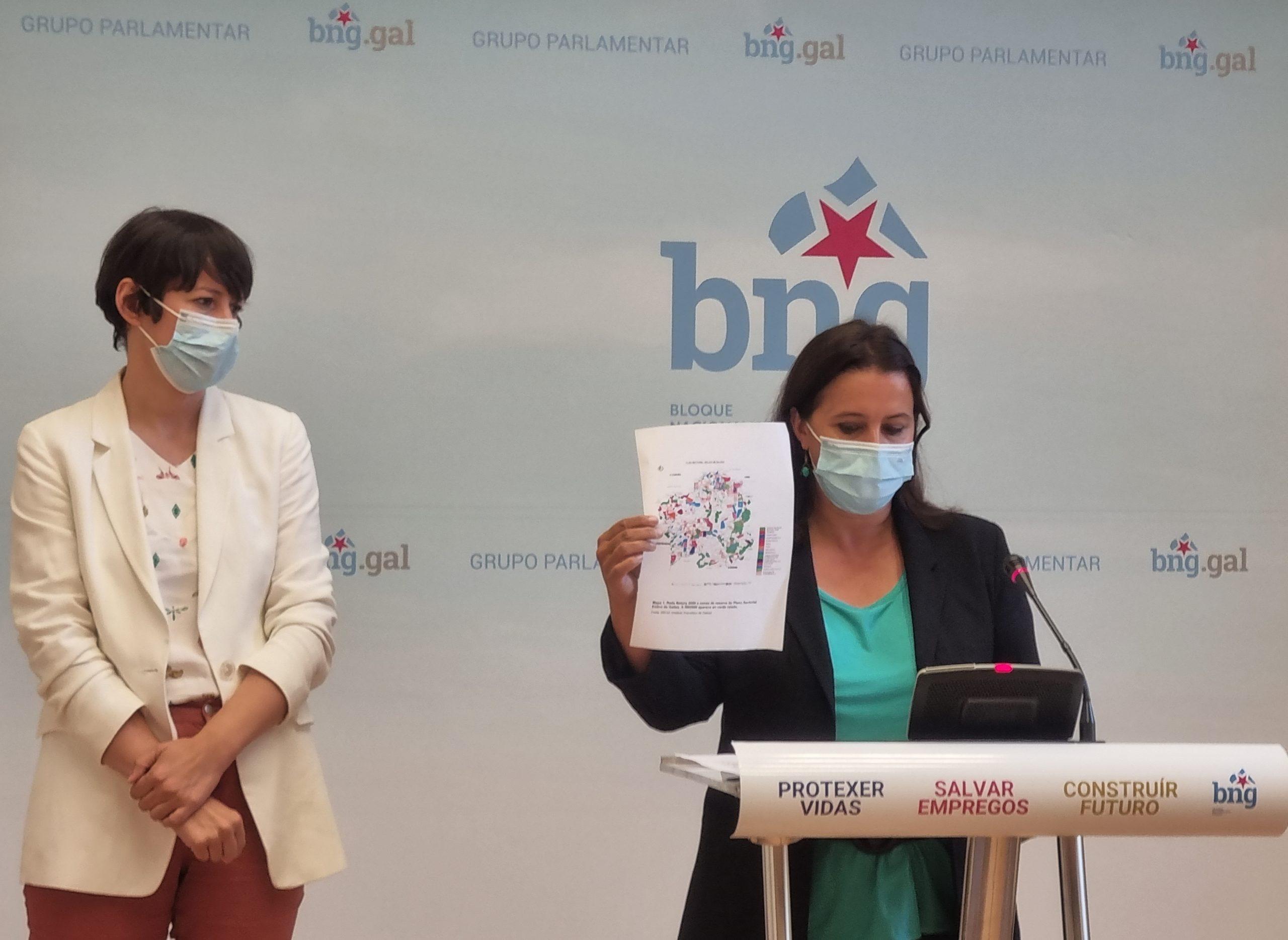 O BNG vai denunciar ante a Comisión Europea o boom eólico depredador por vulneración de normativa comunitaria