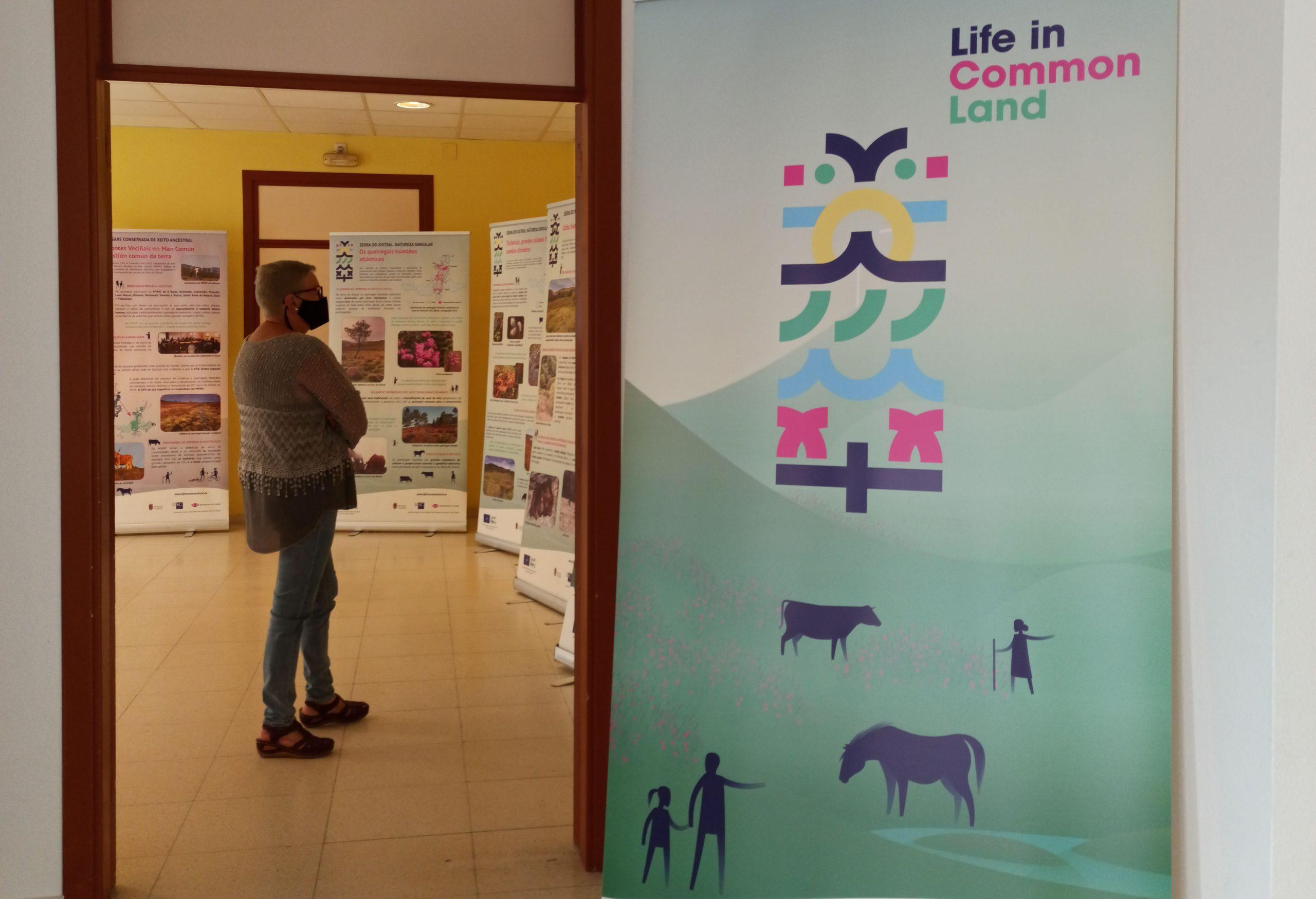 O Valadouro acolle a primeira exposición itinerante do Proxecto Life in Common Land