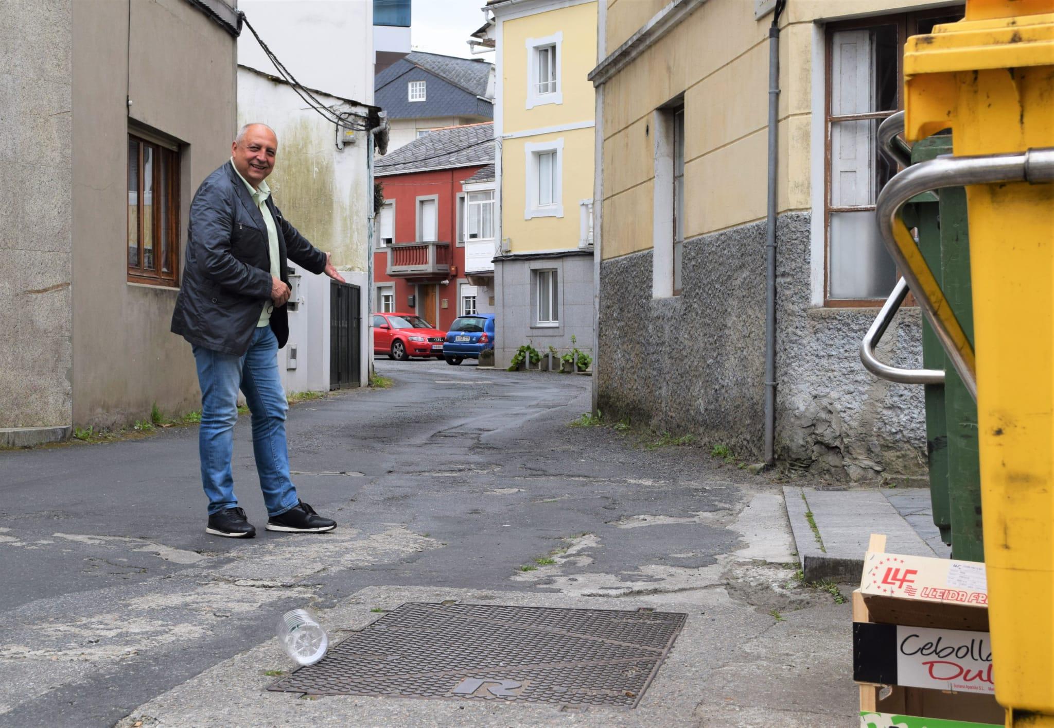 O PP de Viveiro pide ao Concello melloras no Barrio do Conexo, especialmente no acceso dende a Rúa Suasbarras