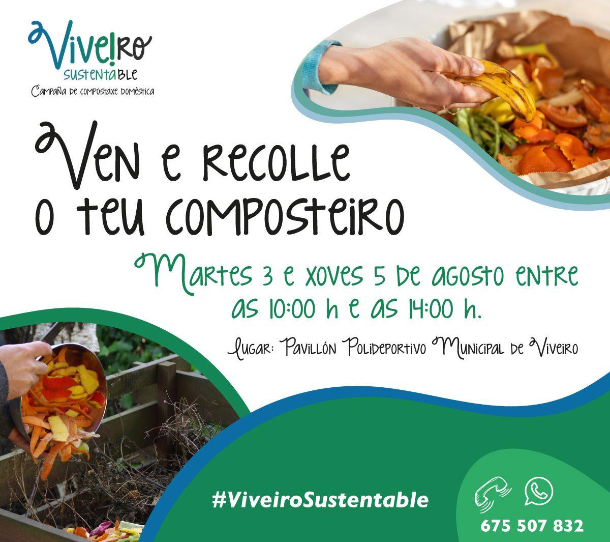 Viveiro Sutentable márcase como obxectivo chegar a 300 familias