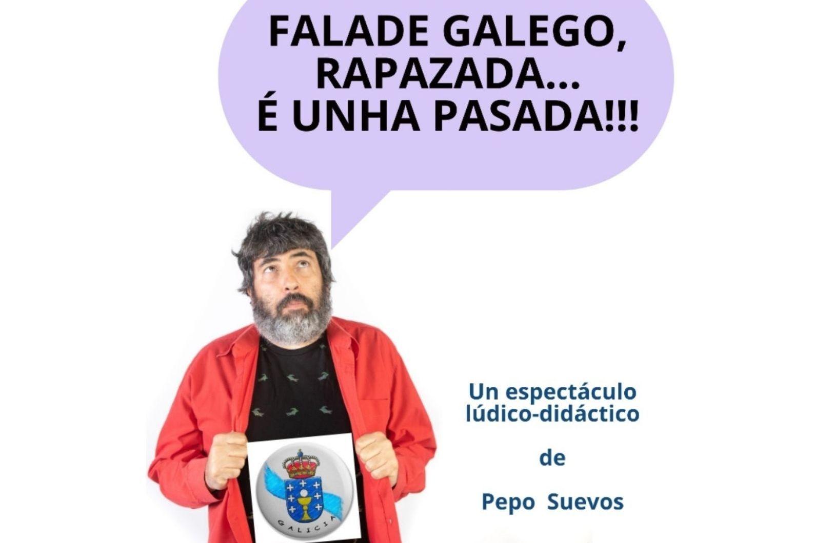 Pepe Suevos, o sábado 31 de xullo ás 19.00 h, no Pastor Díaz
