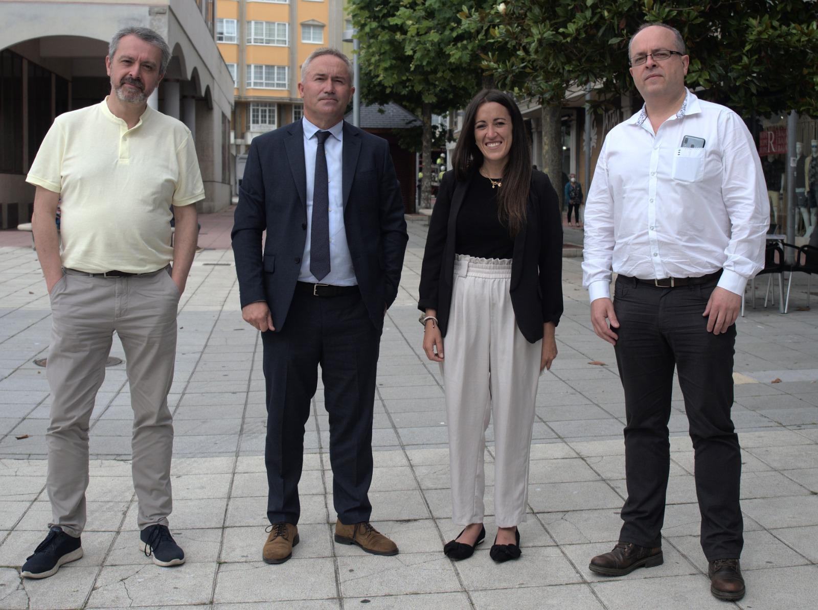 Acia Burela e AFIGAL presentan ao comercio local as novas liñas de financiamento para pemes e autónomos