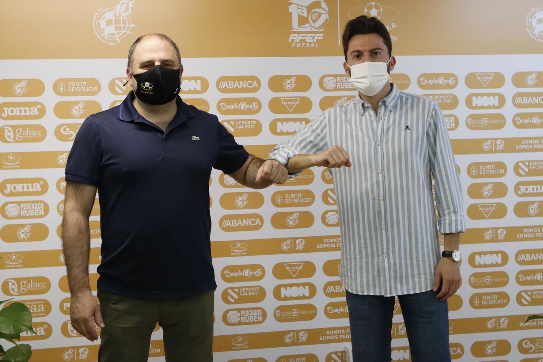 Iago Míguez continuará a vindeira tempada no club da súa vila