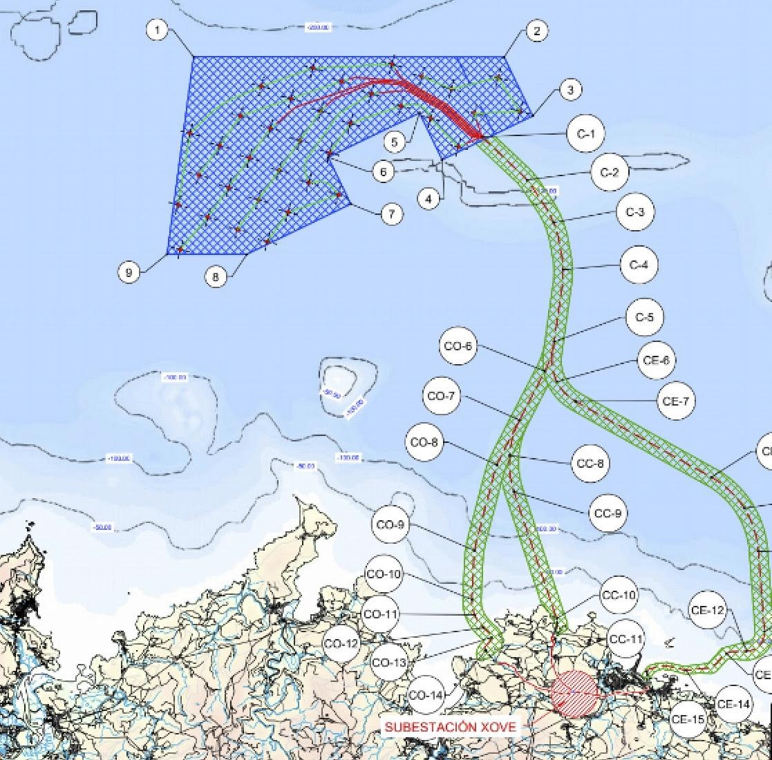 As organizacións ecoloxistas queren participar no observatorio da eólica mariña