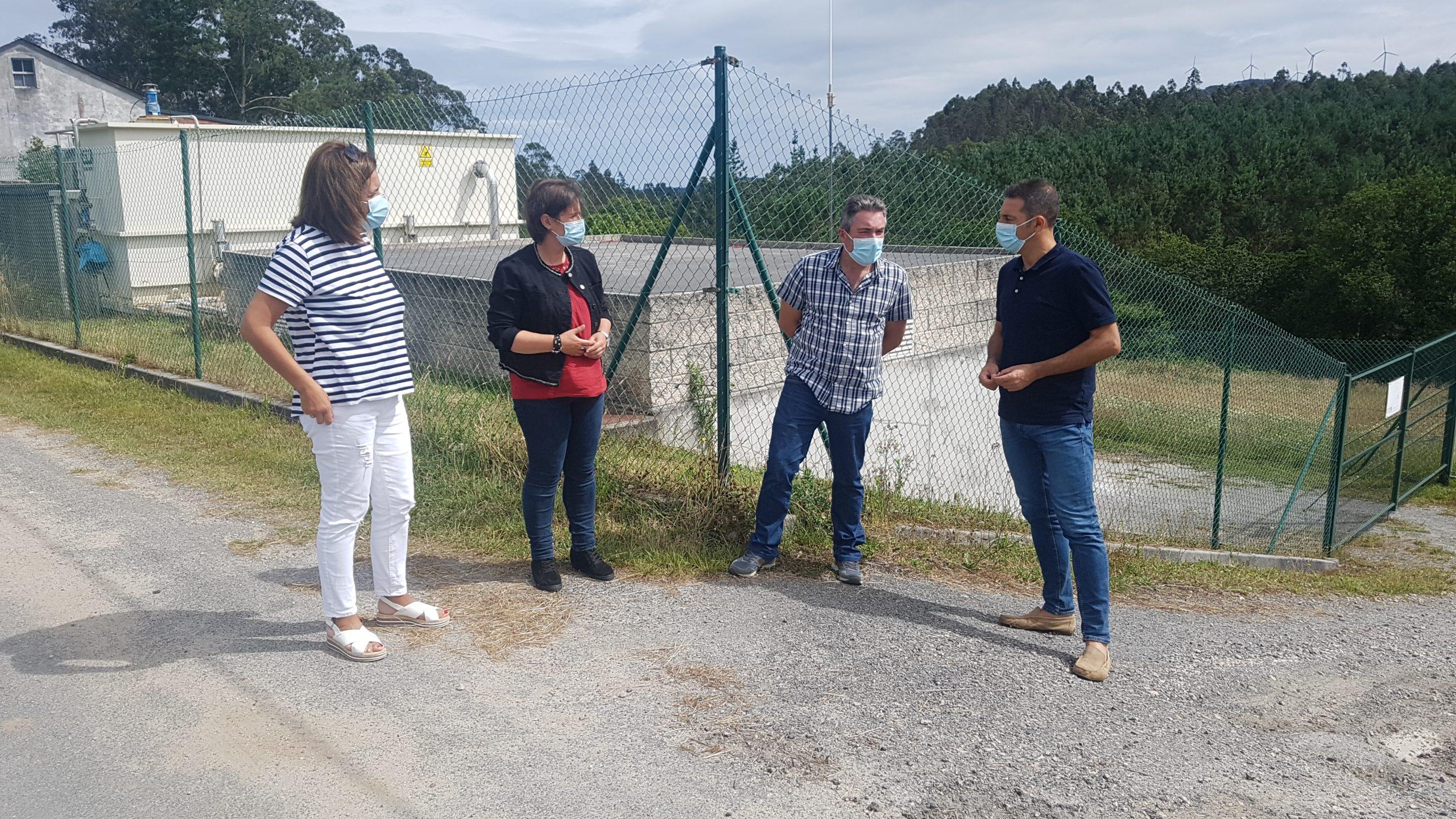 O Concello de Cervo acometerá traballos de mellora no depósito de auga potable de Rúa e asfaltará a pista que leva á caseta dos cazadores