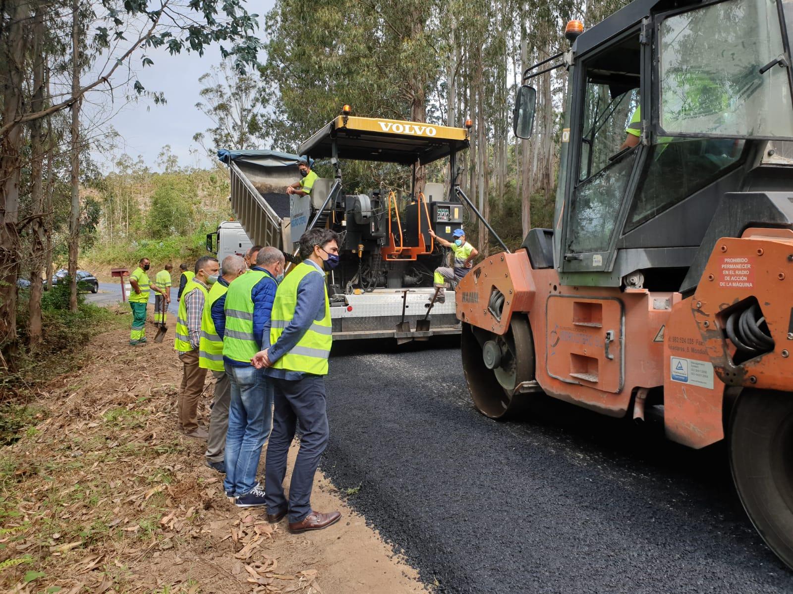 A Xunta inicia obras de mellora nos 5 km da estrada LU-741, entre o núcleo urbano da Pontenova e Aldeguer