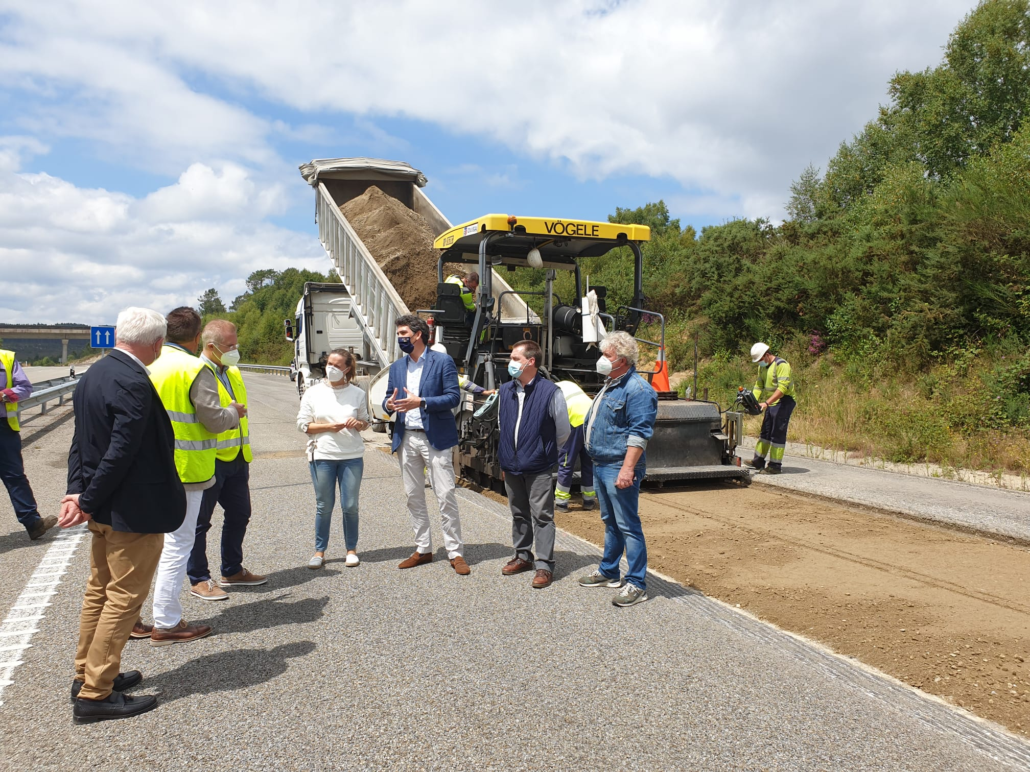 Rematadas as obras na autovía AG-64 entre Vilalba e Xermade