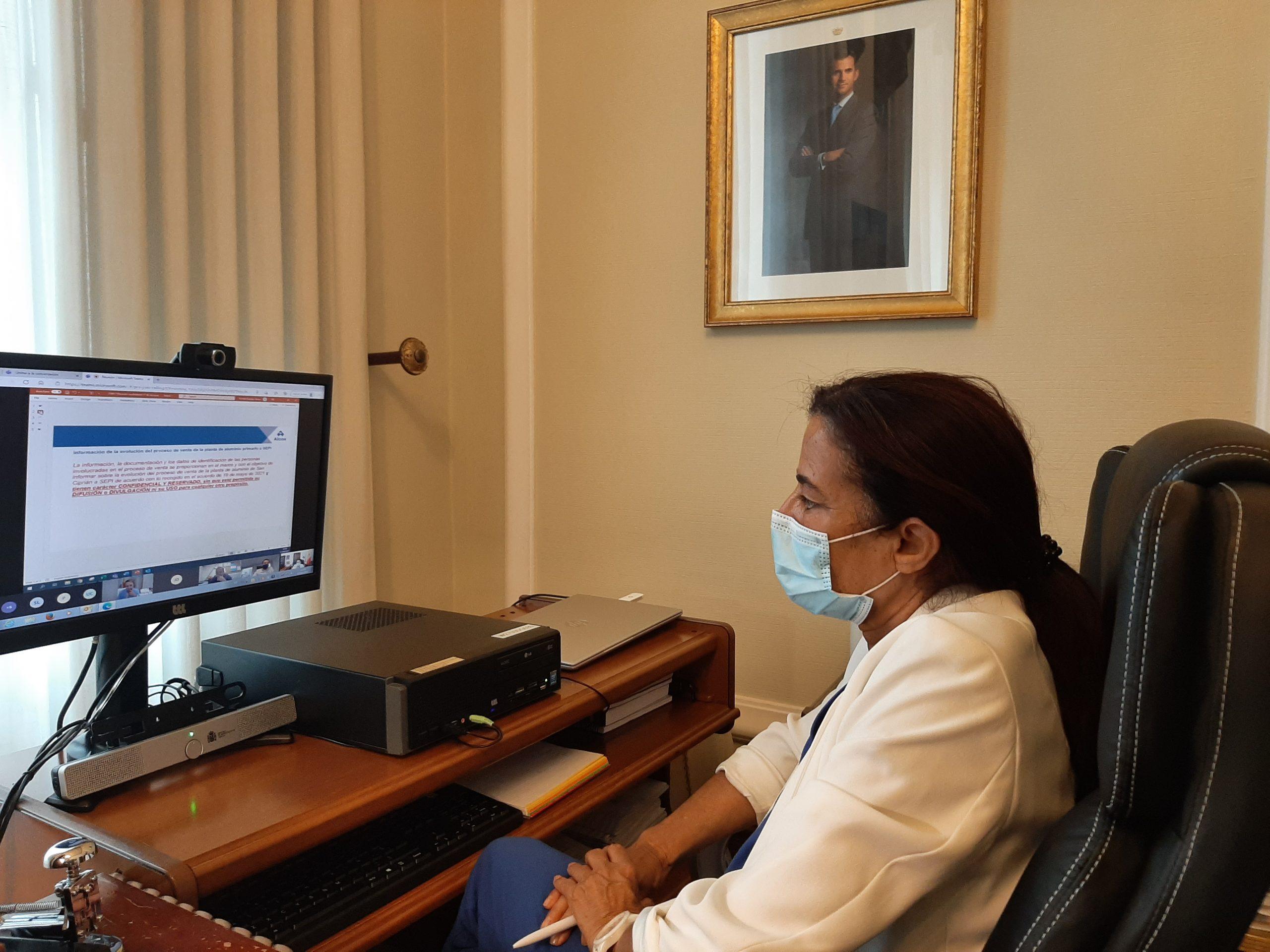 Isabel Rodríguez subliña que as iniciativas do Goberno en materia de conectividade chegaron a máis de 300.000 vivendas en Galicia con 93M€ dende 2018