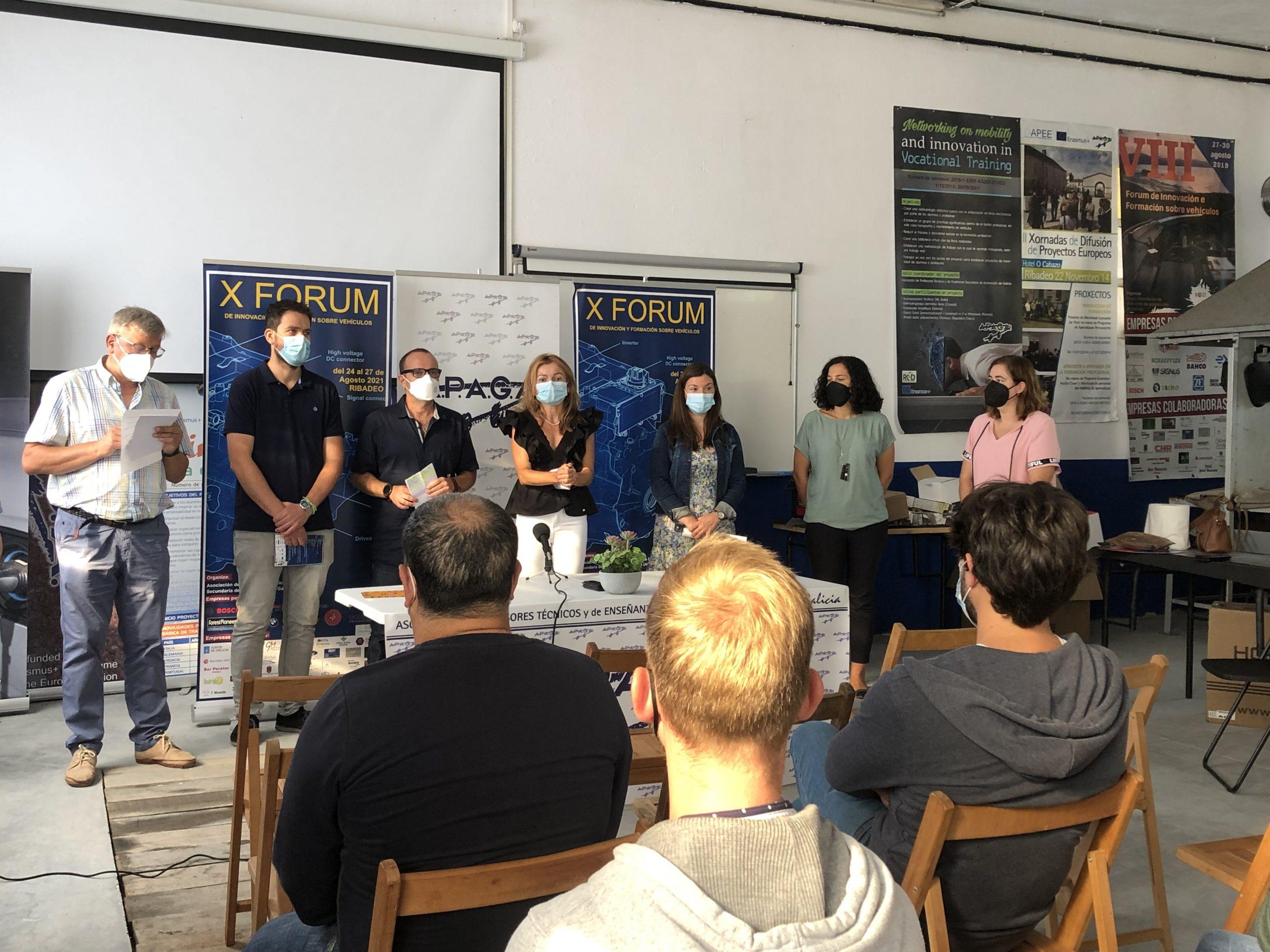 A Deputación colabora co X Forum de Innovación e Formación sobre Vehículos que se celebra esta semana en Ribadeo