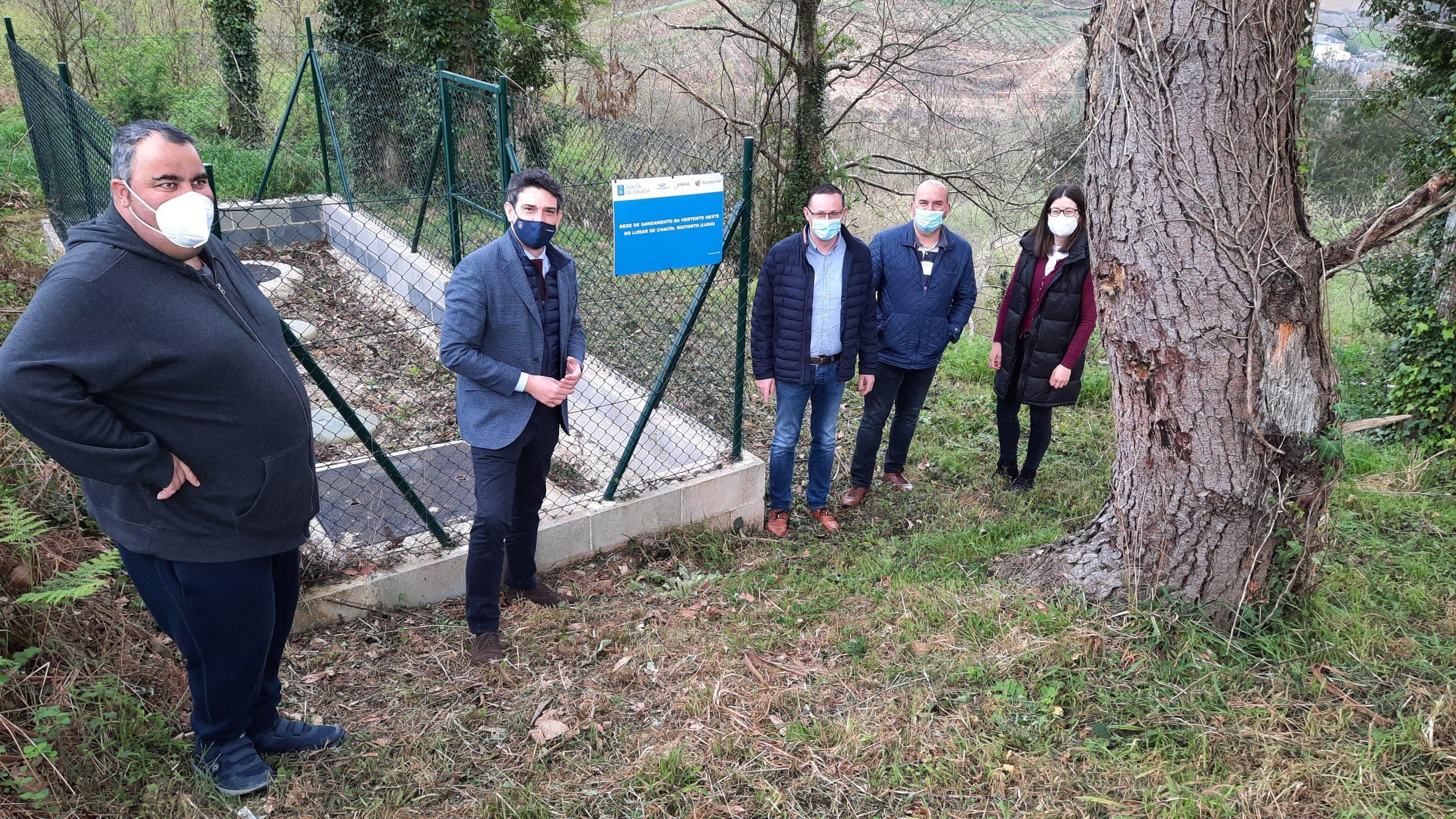 A Xunta destina preto de medio millón de euros a financiar unha ducia de obras de abastecemento e saneamento na Mariña