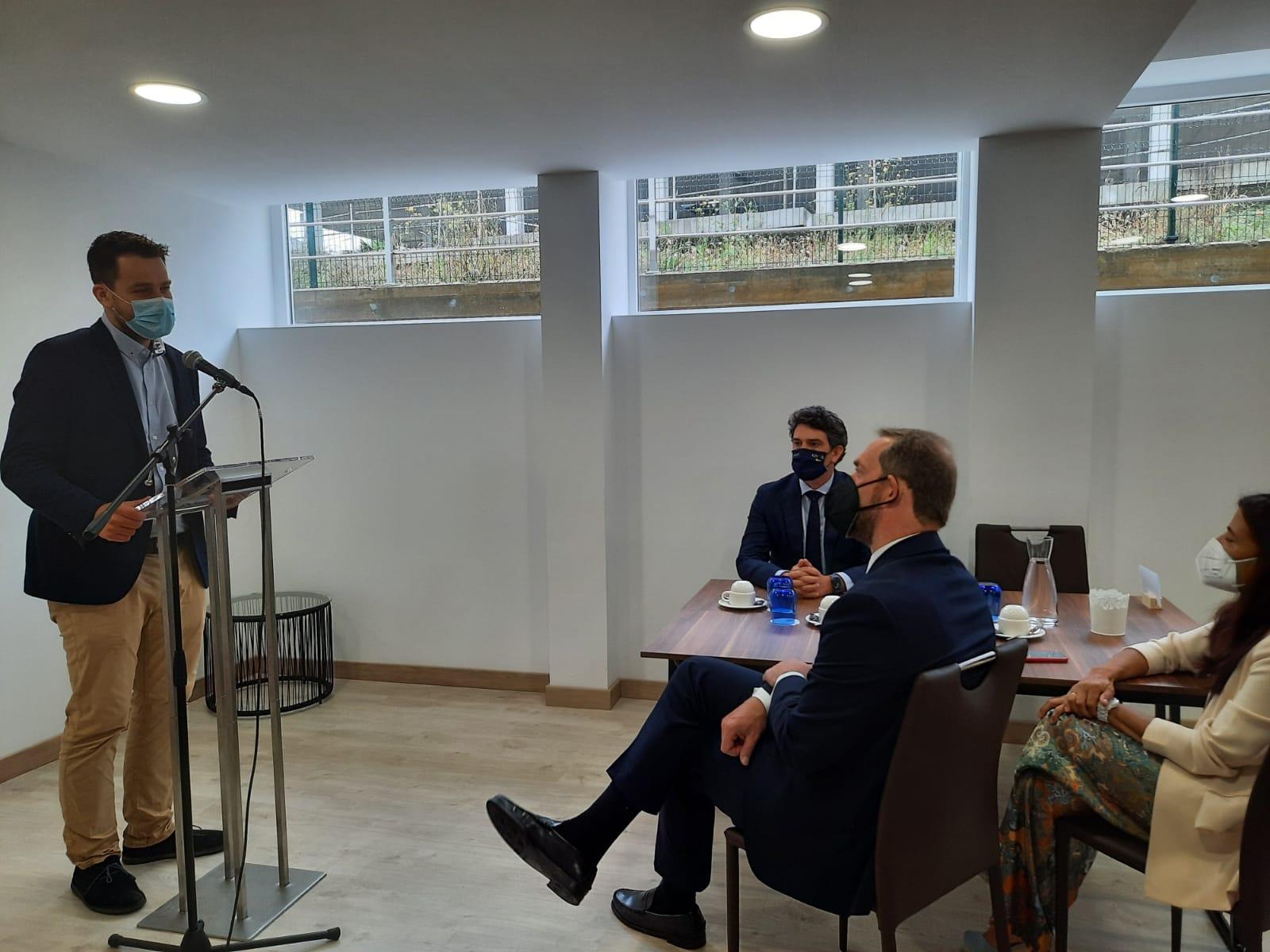 O presidente da Mancomunidade de Concellos da Mariña, Fran Cajoto, agradece as mostras de apoio ao Plan de Sostibilidade Turística por parte de todos os membros