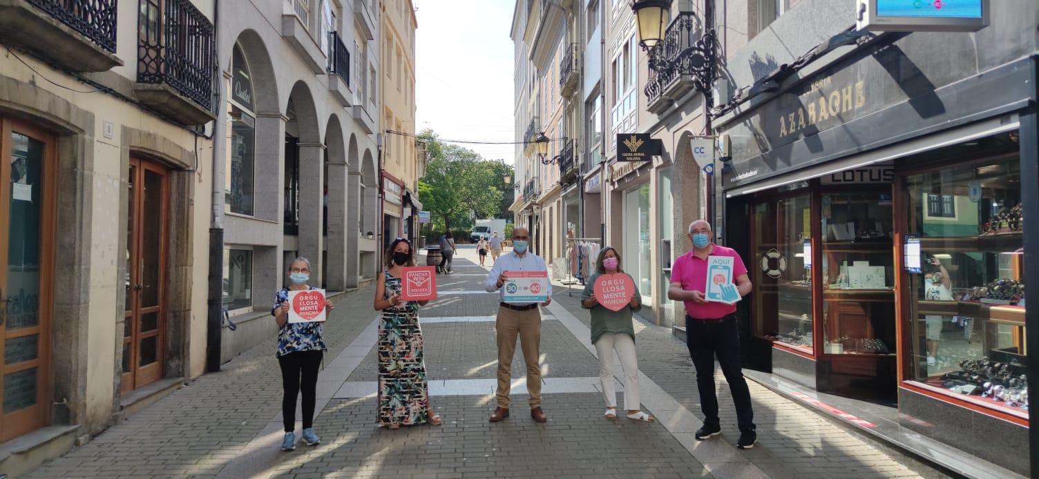 Máis de 100 locais adheridos na nova campaña da Pancha, a moeda local de Ribadeo, que arranca este mércores