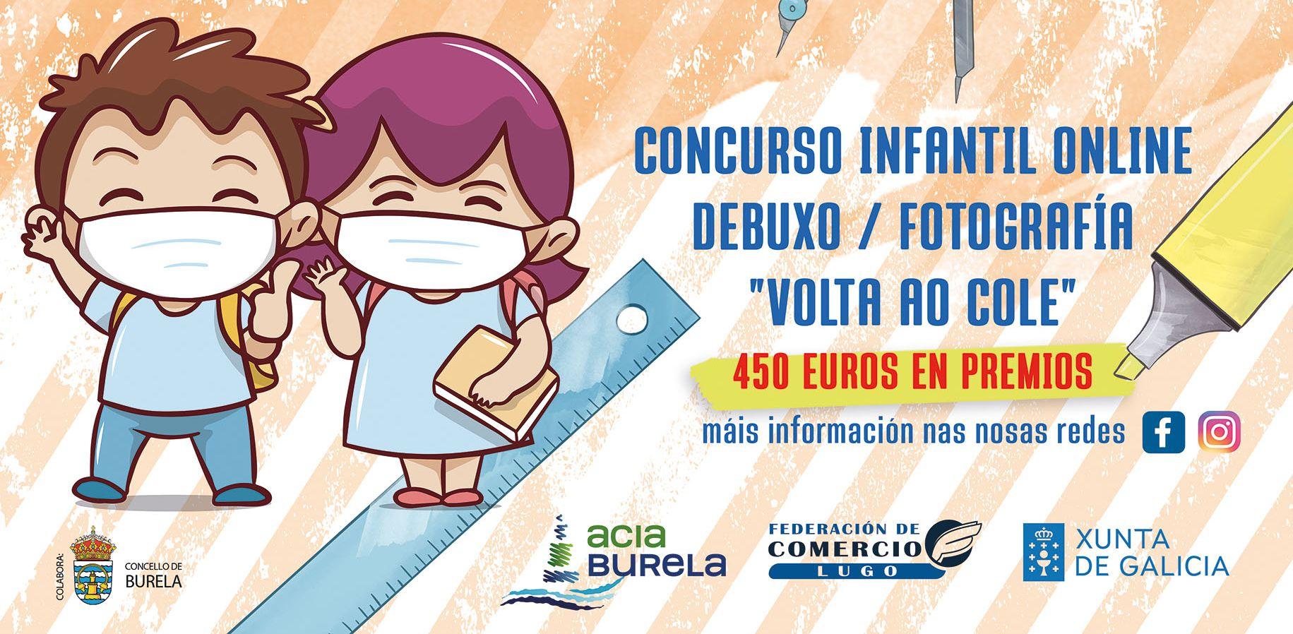 ACIA Burela lanza a campaña de volta ao cole cun concurso en liña e vales de compra