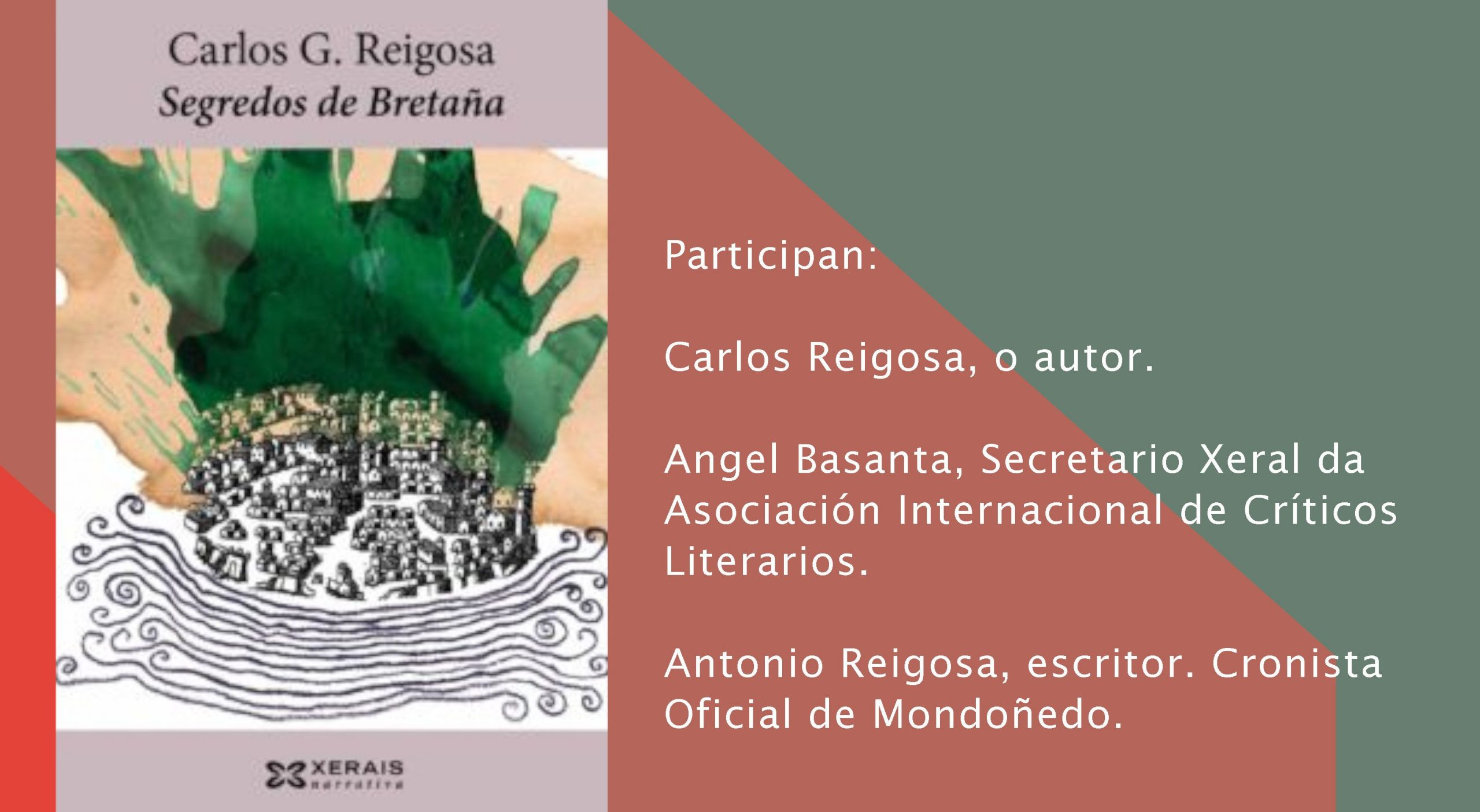 Conversa con Carlos Reigosa en Foz
