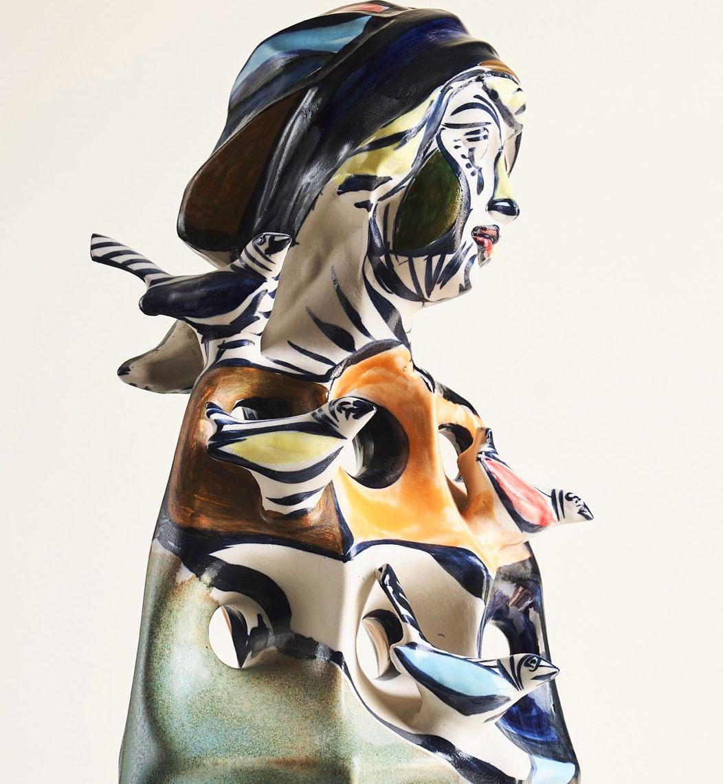 'Hai Mulleres', cadros, cerámicas e esculturas de Otero Regal, desde este venres no CENIMA de Foz