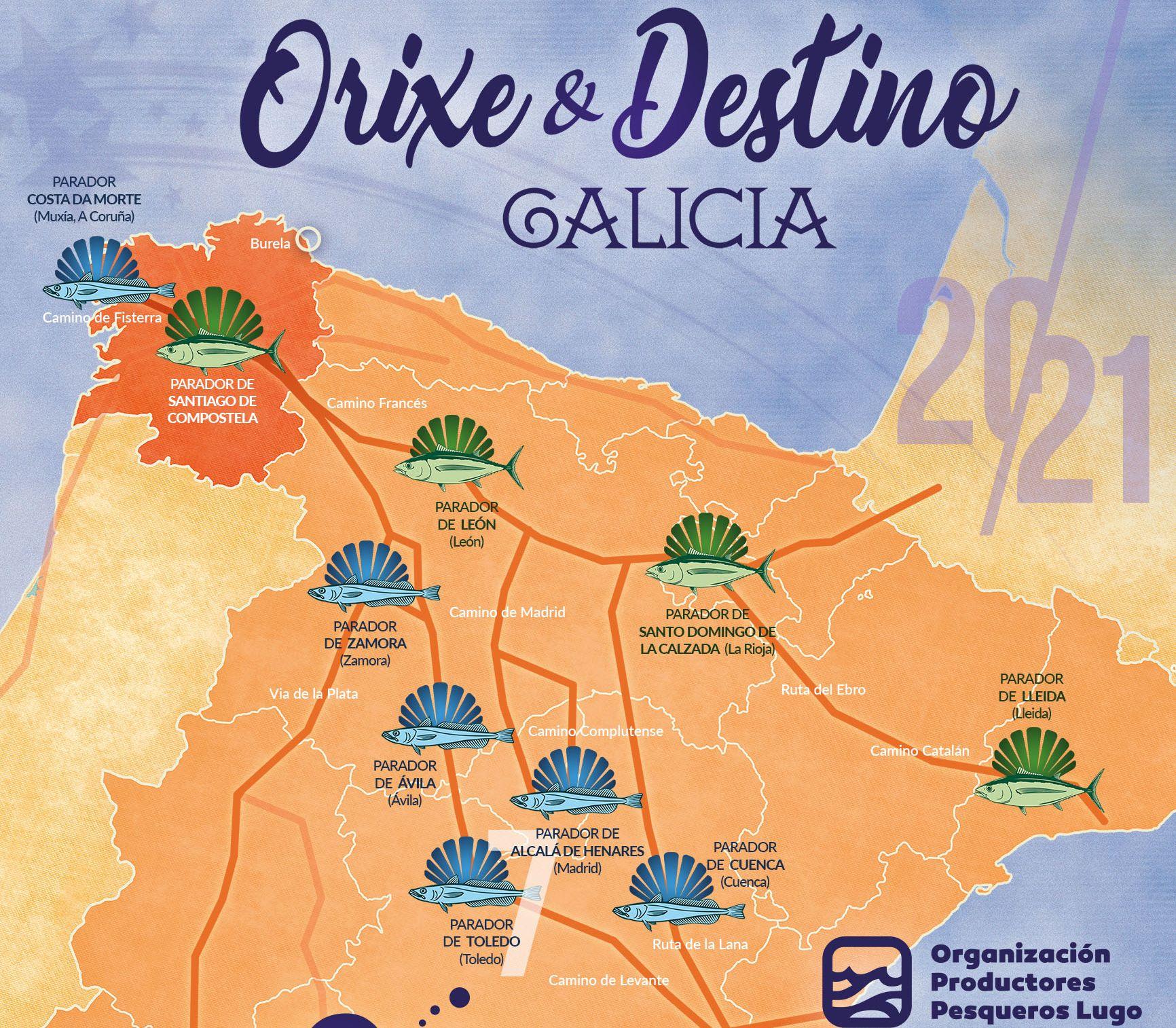 A Merluza de Burela conquista Toledo