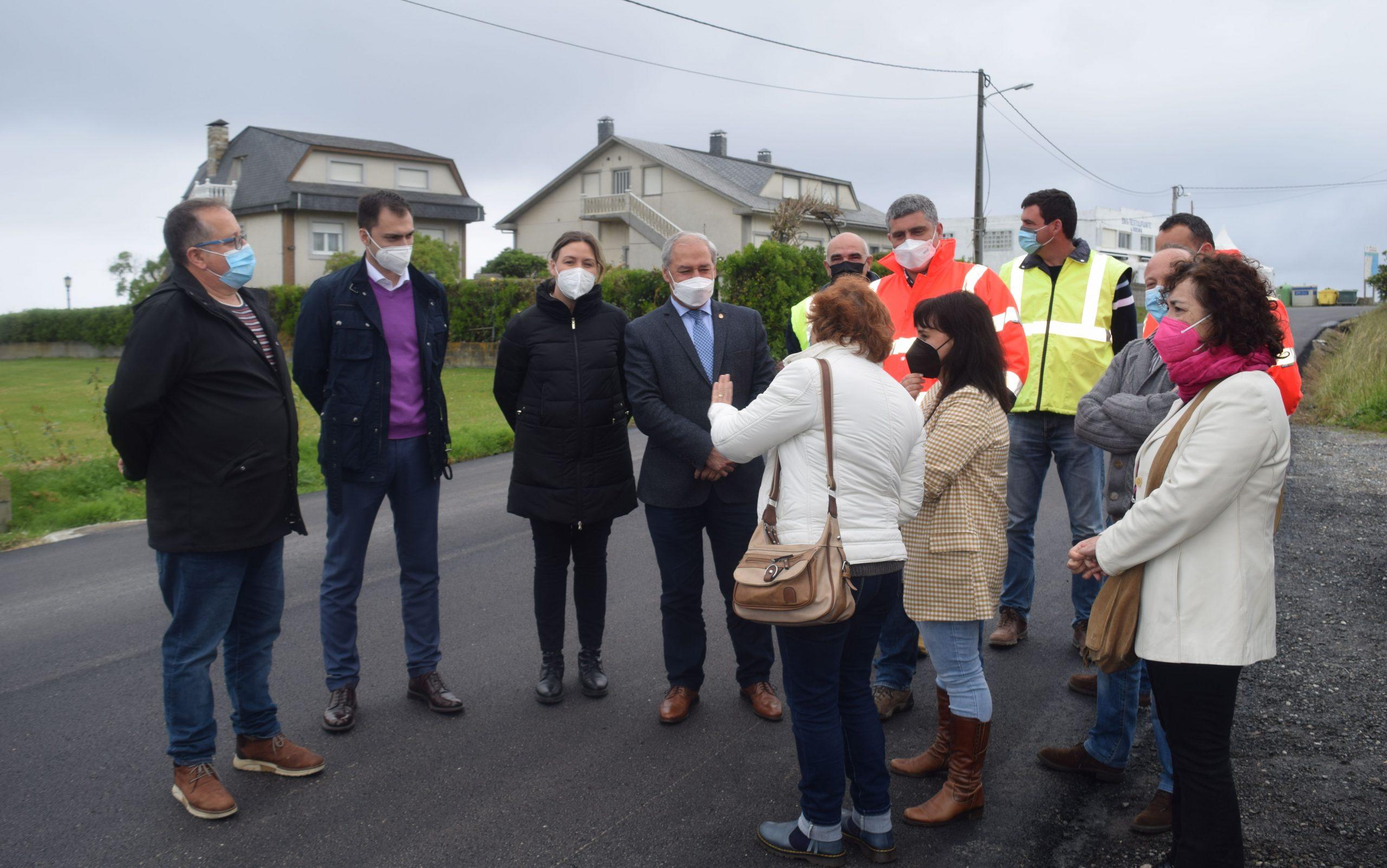 Adxudicada a mellora dun novo tramo da estrada provincial que enlaza os areais de Barreiros