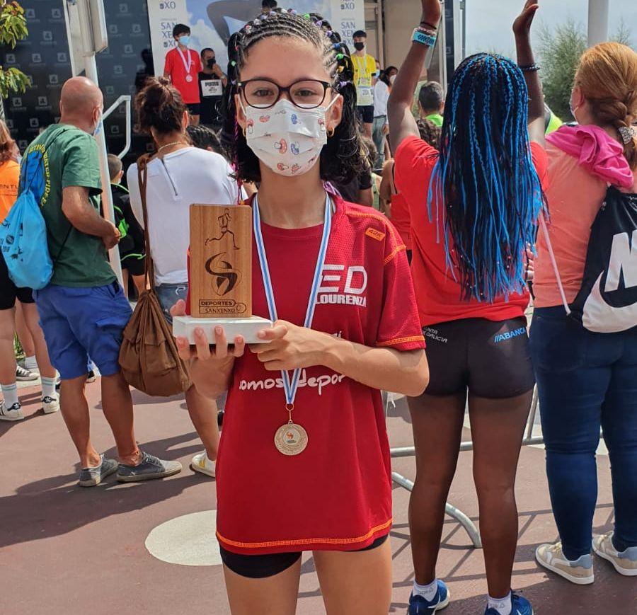 Lidia Balseiro triunha na Milla de Sanxenxo