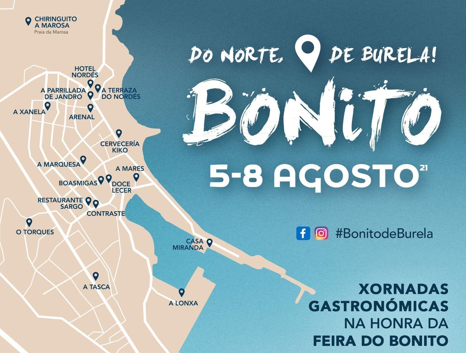 Ata o domingo Burela rende homenaxe ao bonito e á arte urbana con Amarte
