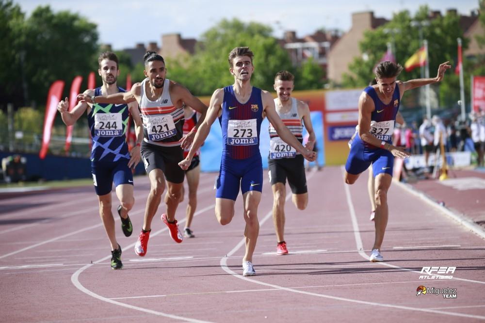 A Deputación felicita a Adrián Ben pola clasificación para a final olímpica de 800 m.