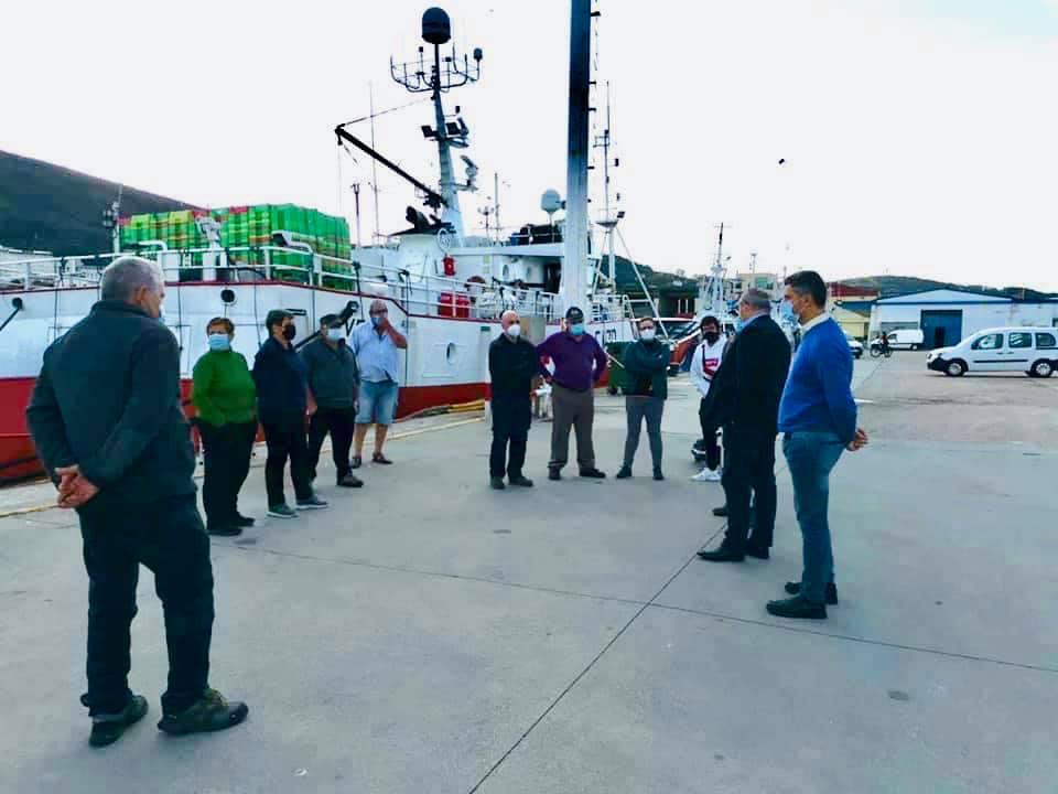 A coordinadora de Mar e vicevoceira popular en Burela, Yovana Oroza, traslada á Consellería as inquedanzas do sector da pesca recreativa coa nova resolución que os avala