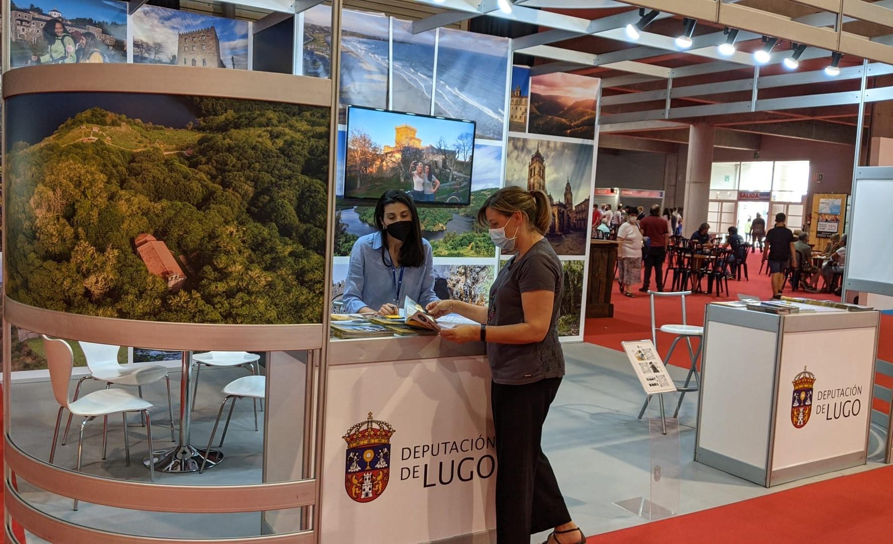 A Deputación promociona o turismo e a gastronomía da provincia en Turexpo