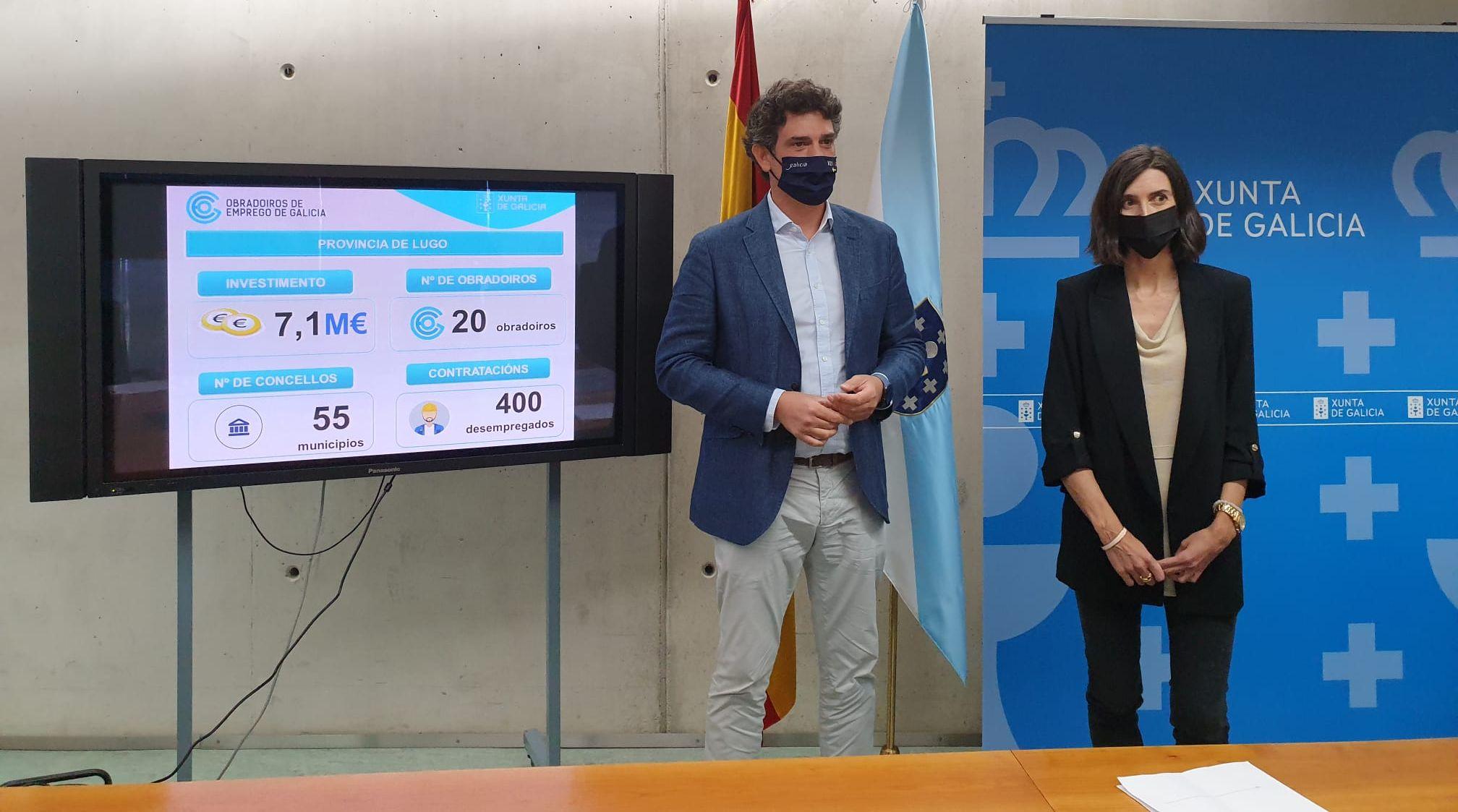A Xunta financiará cinco obradoiros duais de emprego promovidos por concellos da Mariña cun investimento de 1,7 M€