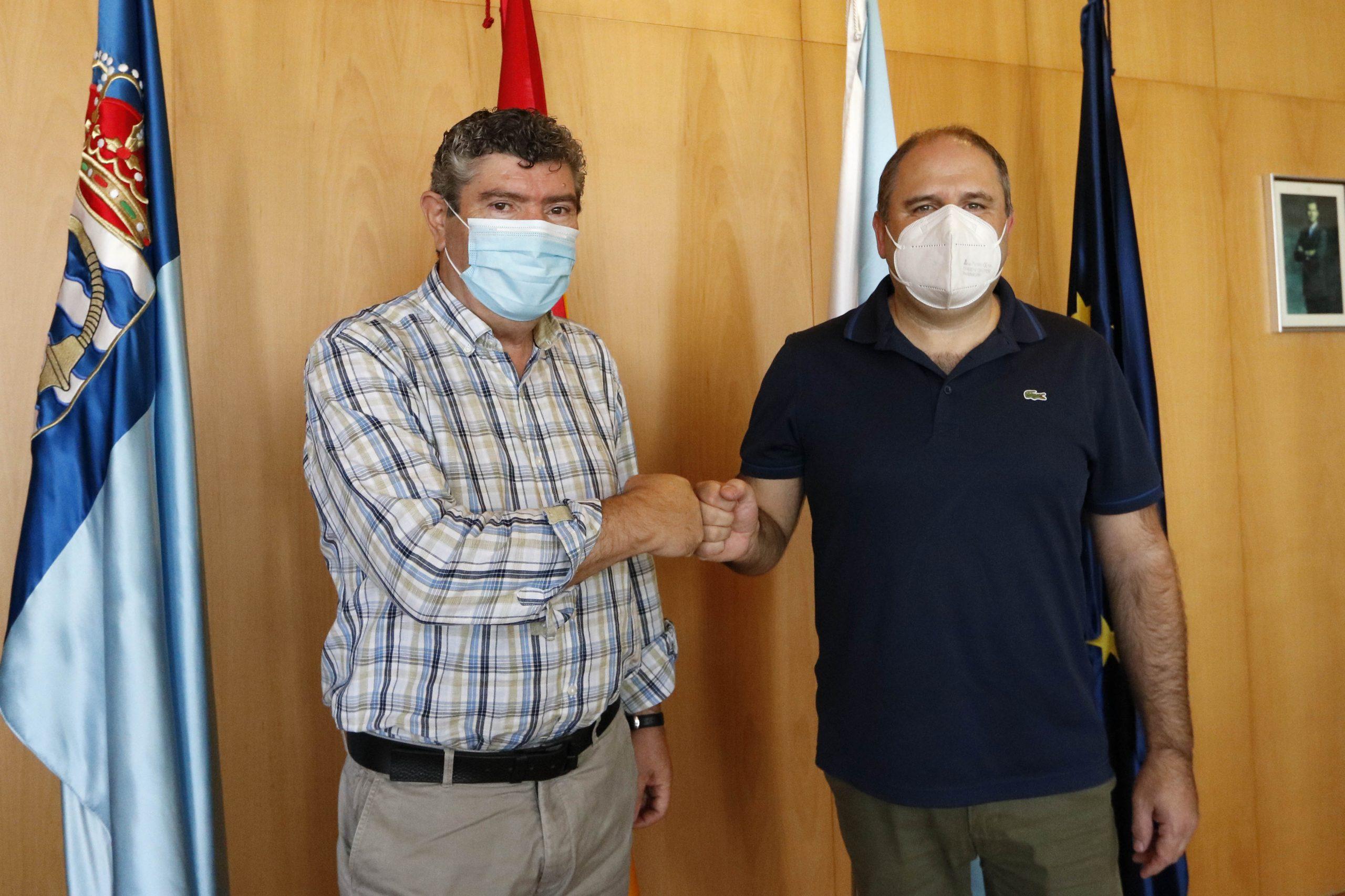 O Concello e Burela FS asinan un  convenio nominativo para a promoción turística do municipio