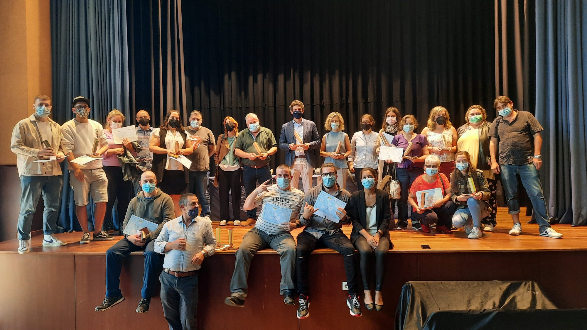 A Xunta clausura o obradoiro de emprego Terras do Sor IV coa entrega de diplomas aos 20 participantes