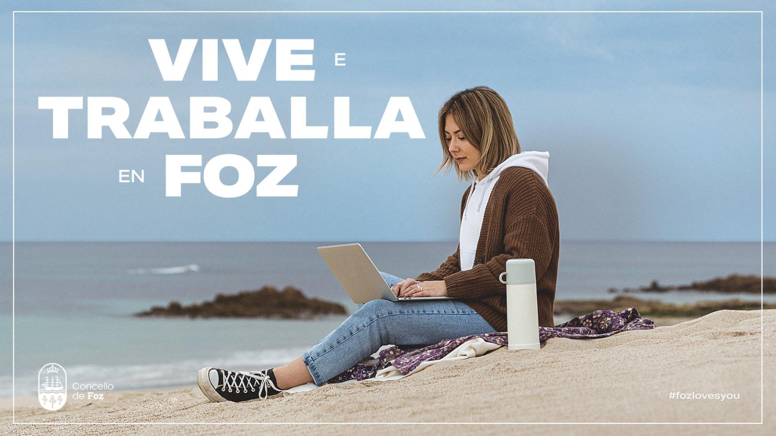 O Concello de Foz presenta este sábado o seu novo banco de fotos municipal e a campaña 'Vive e traballa en Foz'