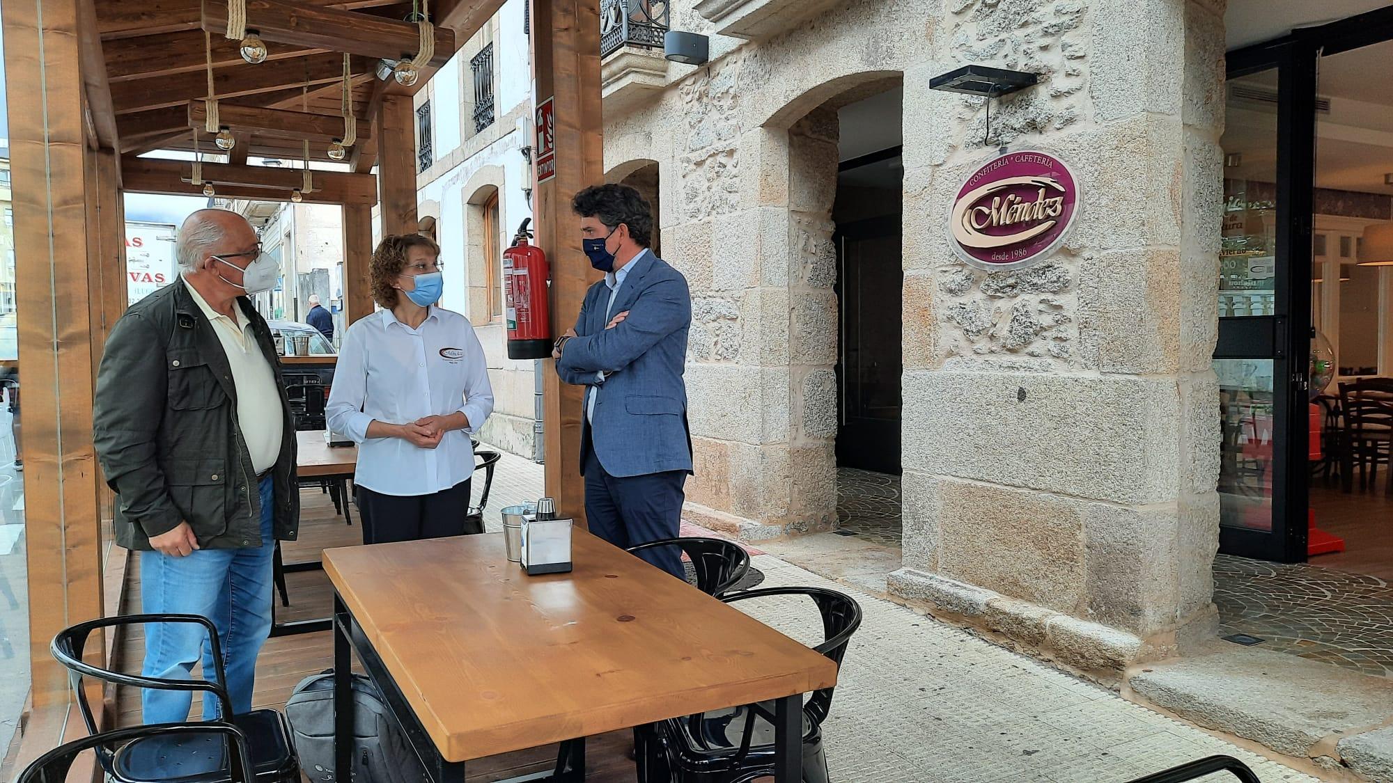 Arias destaca no Valadouro as axudas da Xunta á hostalería, coa convocatoria de catro novas liñas este mes