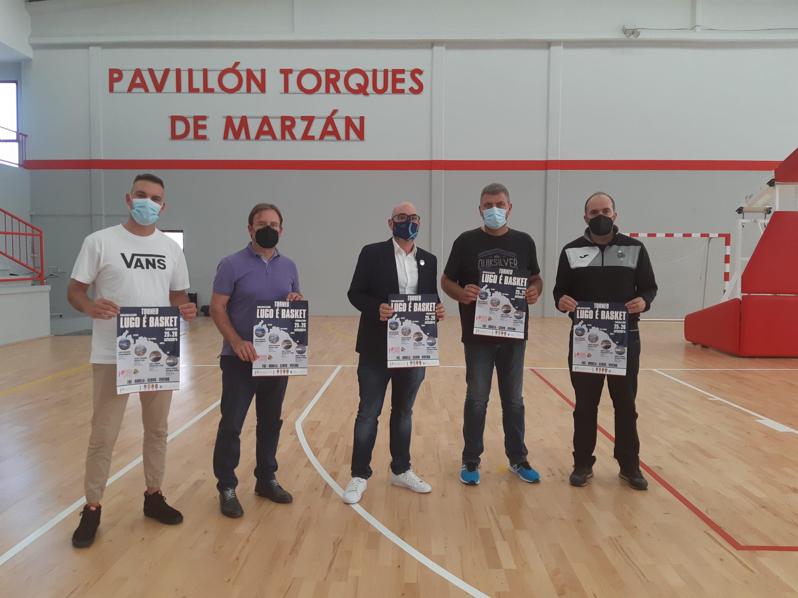A Mariña acolle esta fin de semana o Torneo Lugo é Basket, que reunirá 16 equipos de base de toda Galiza