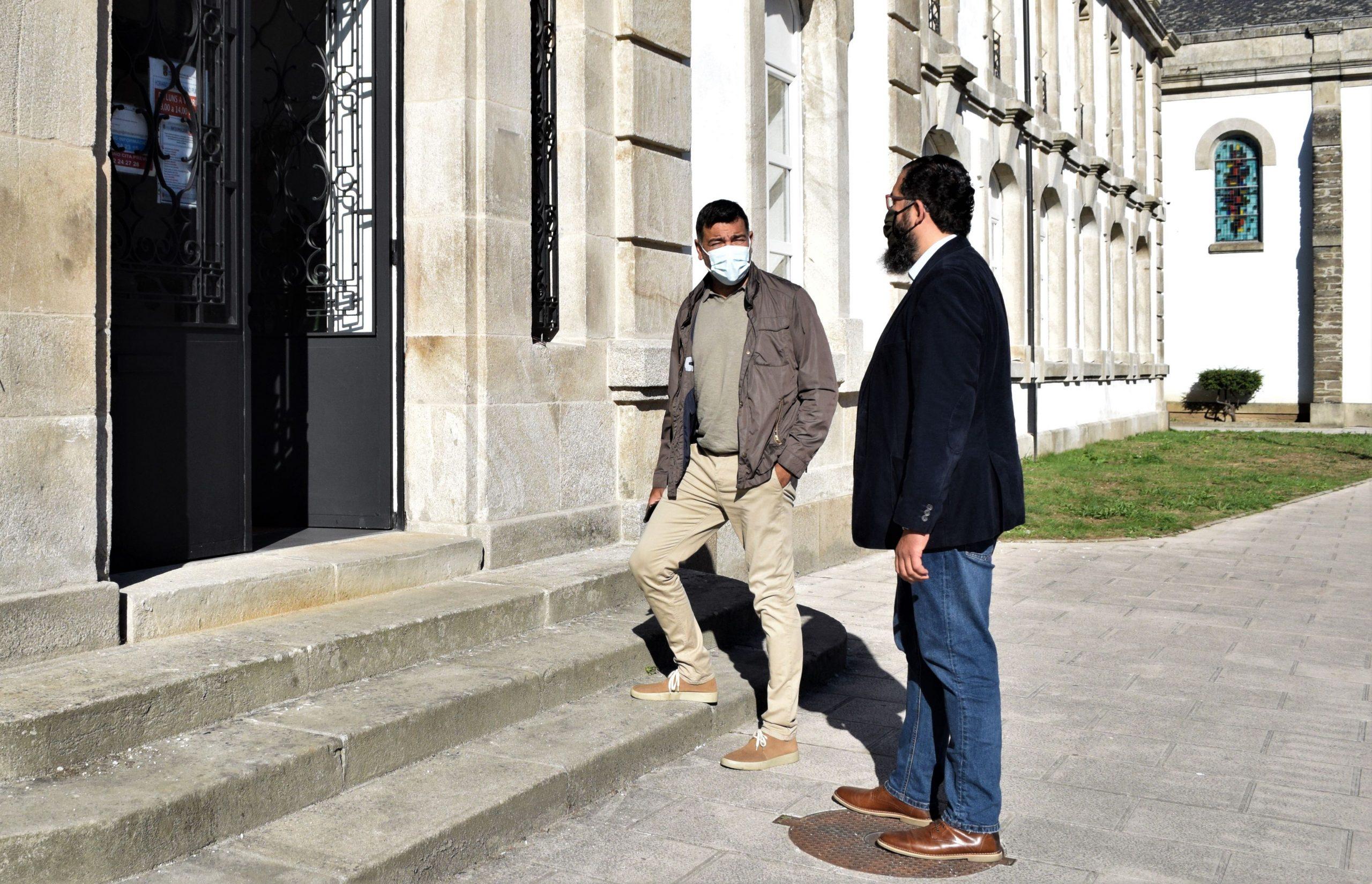 O PP estuda accións legais diante da negativa do goberno provincial a permitir unha visita ás instalacións de Santa María do portavoz popular, Javier Castiñeira, e o deputado Óscar Poy