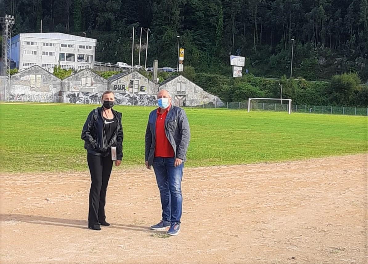 O PP de Viveiro insta á alcaldesa a confirmar na recepción a Adrián Ben que o Concello impulsará a construción das pistas de atletismo previstas dende o 2009 en Lavandeiras