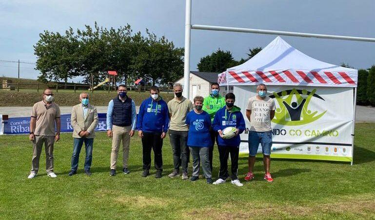 Este venres e sábado celébrase o I Torneo de rugby inclusivo en Ribadeo